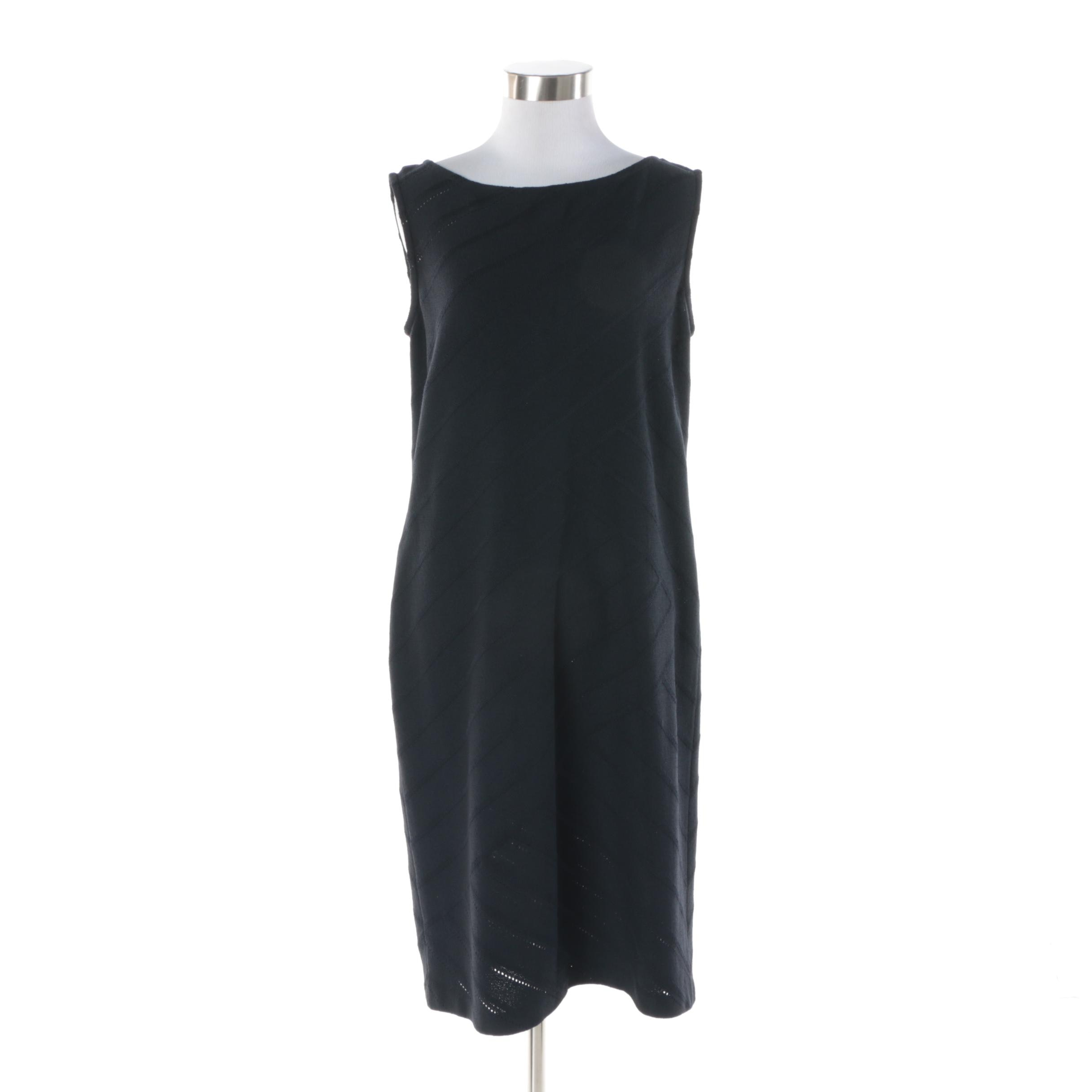 St. John Collection Midnight Blue Dress