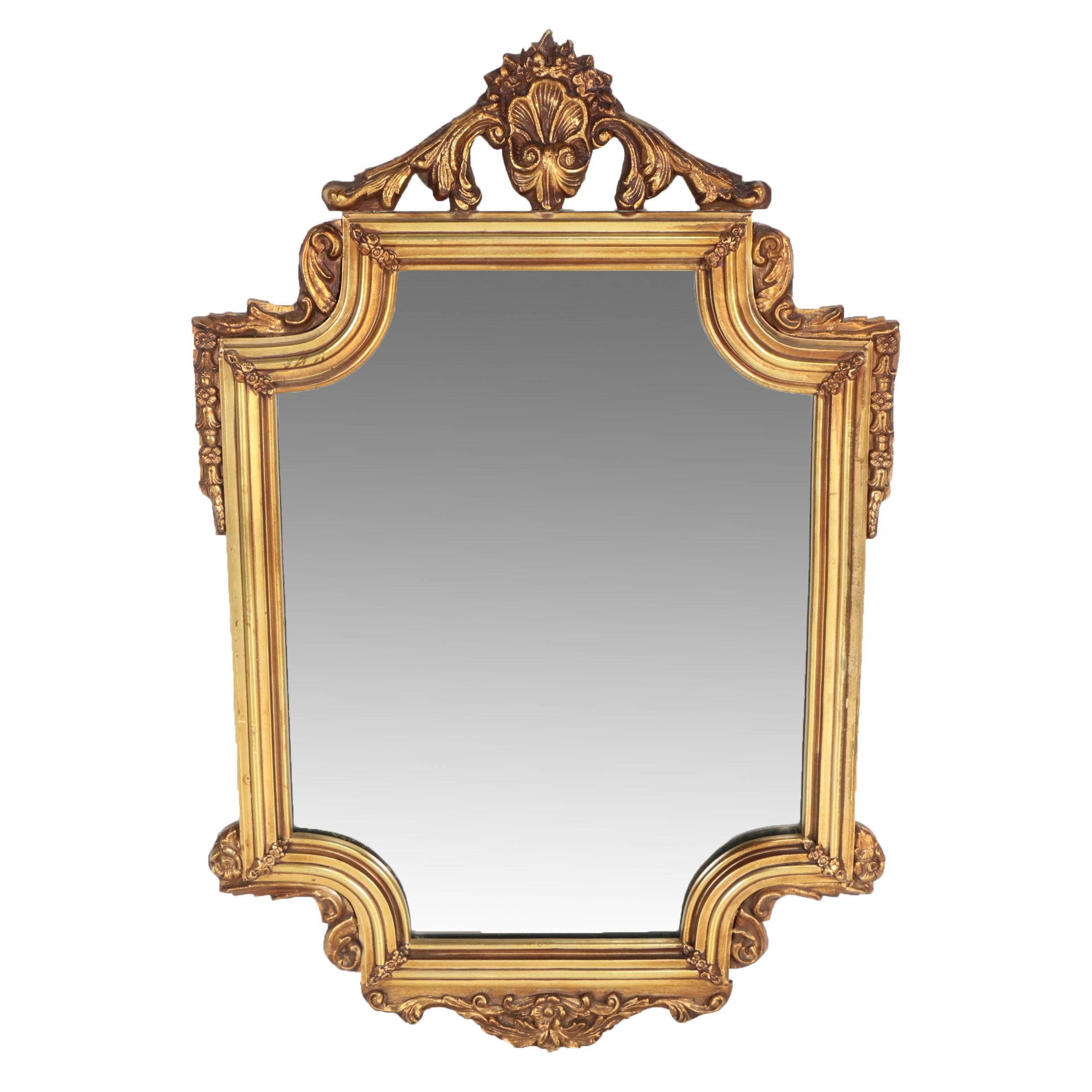 Neoclassical Style Gilt Wall Mirror