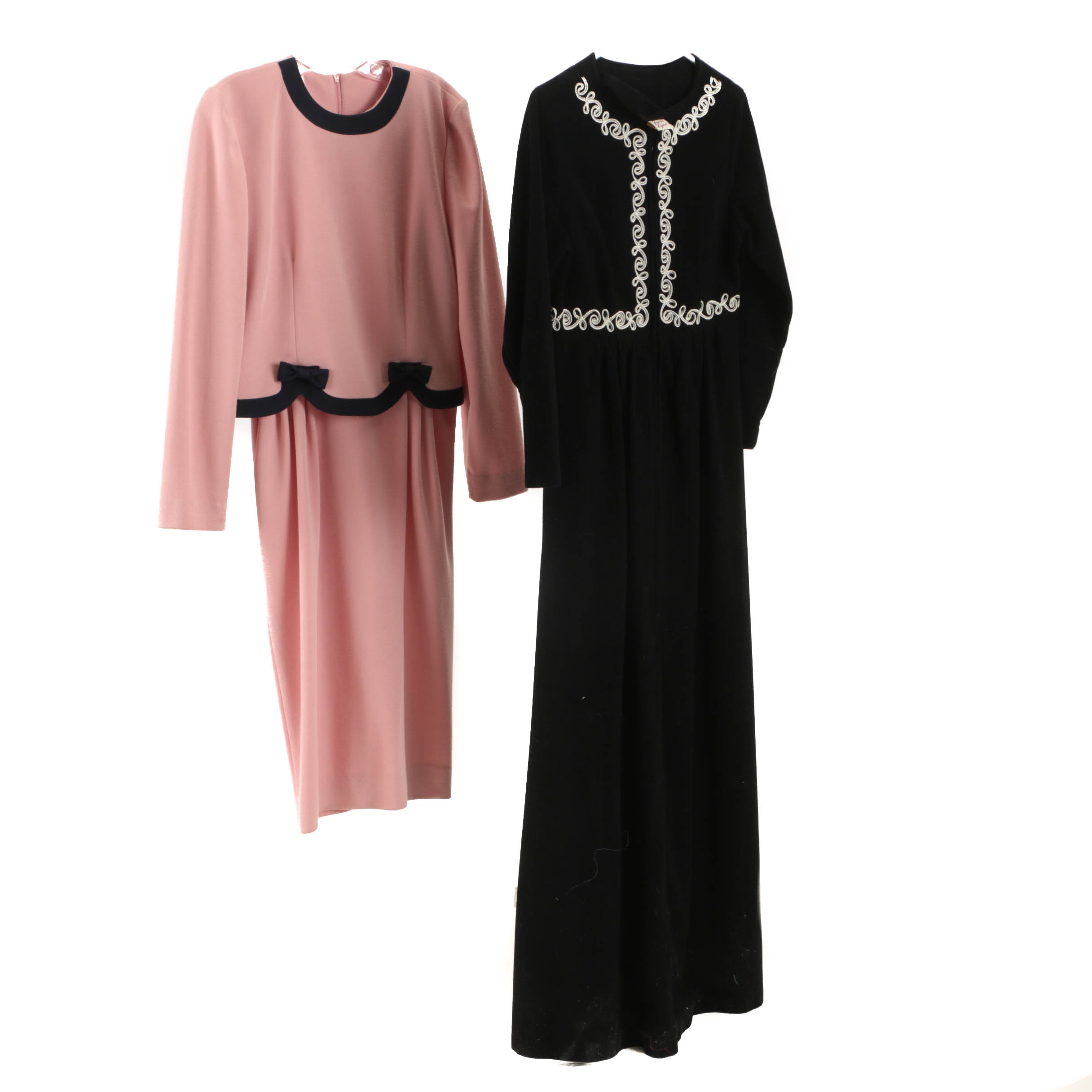 Women's Vintage Dresses Including Leslie Faye