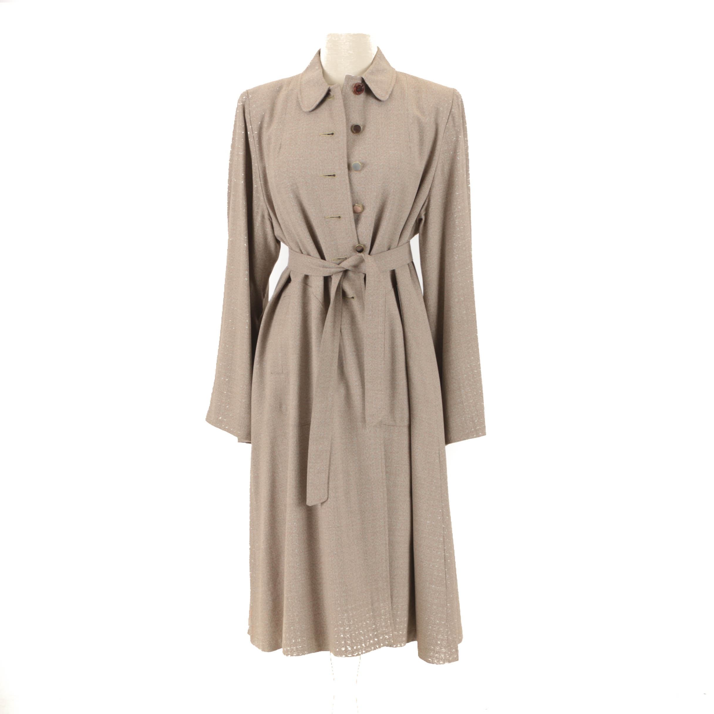 Women's 1960s Vintage Wool Coat