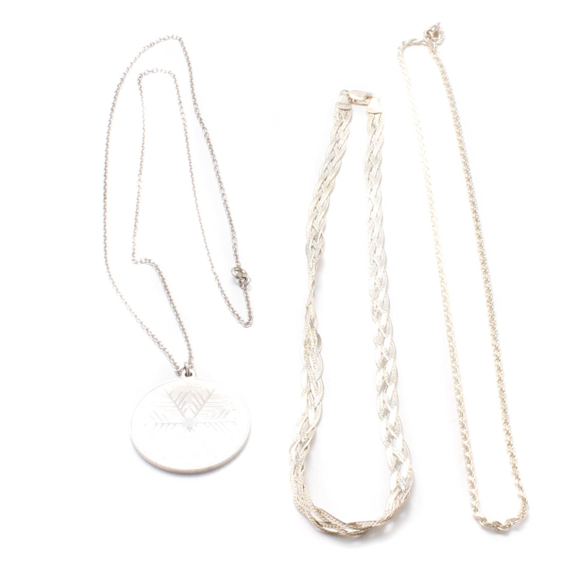 Sterling Silver Necklace Collection