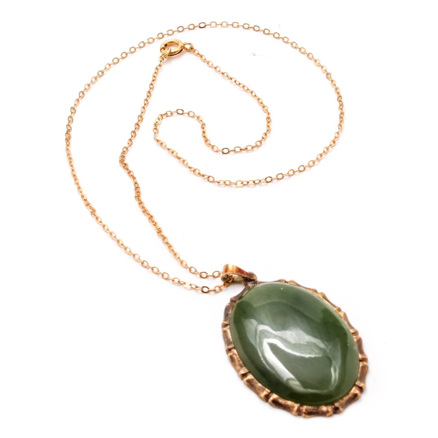 Costume Jewelry Necklace with Imitation Gemstone