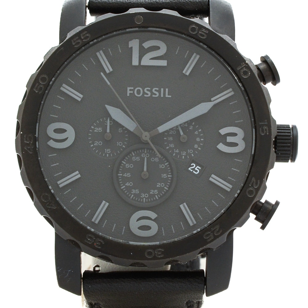 """Fossil """"Nate"""" Chronograph Wristwatch"""