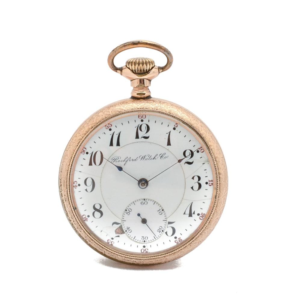 Rockford Watch Co. Lever Set Pocket Watch