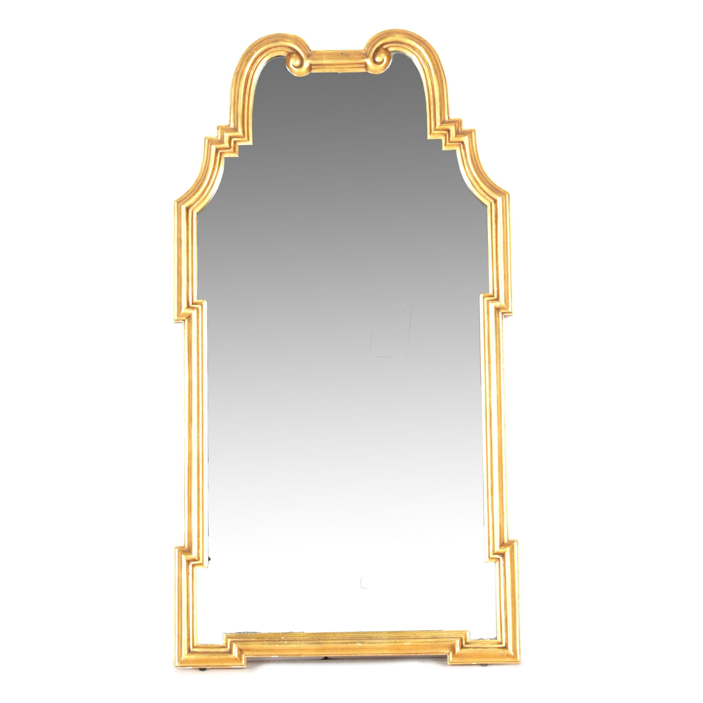 20th Century Directoire Style Gilt Wall Mirror