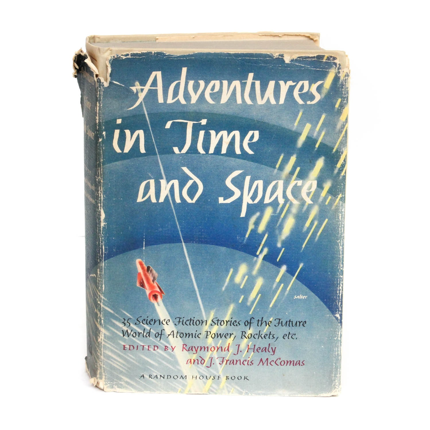 """1946 First Edition """"Adventures in Time and Space"""" Science Fiction Anthology"""