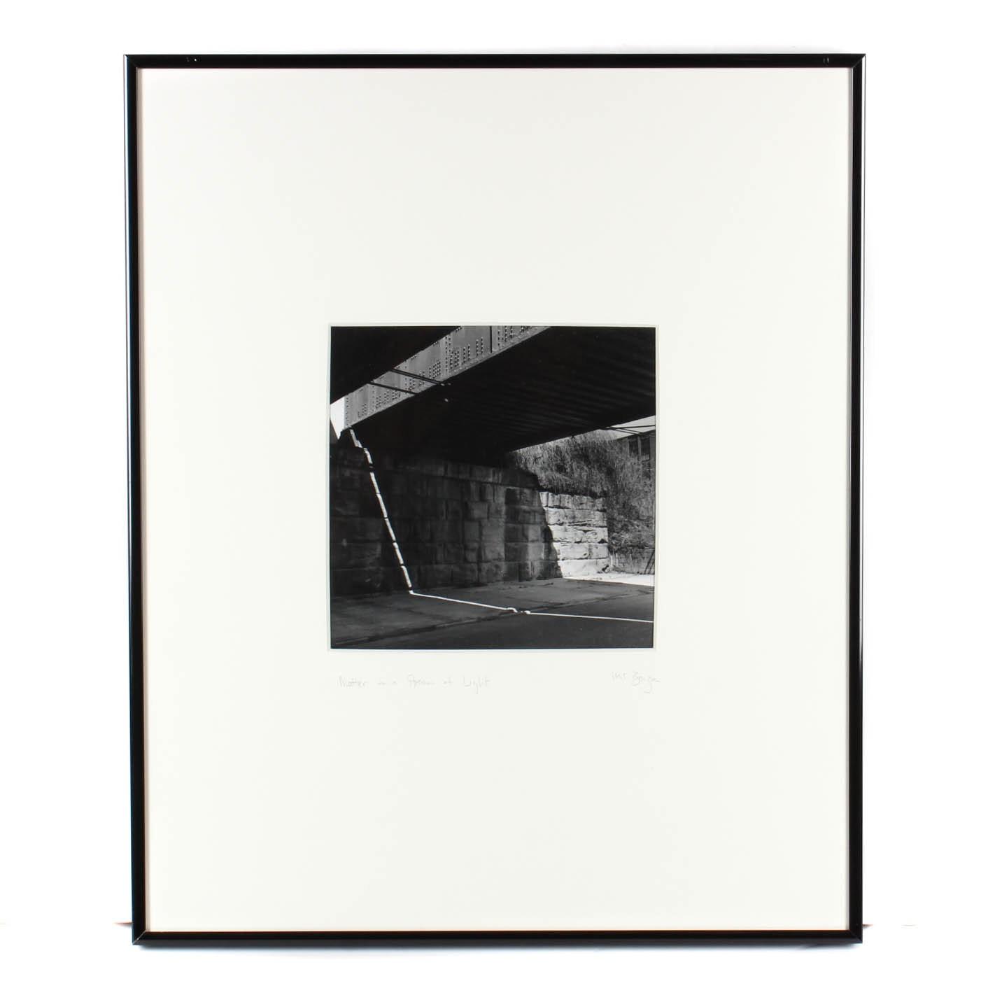 "Michael Bauza Photograph ""Matter in a Stream of Light"""