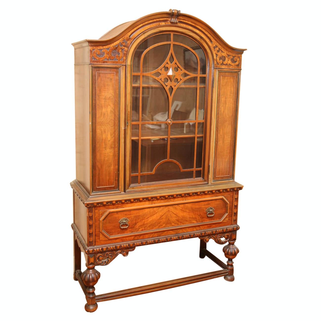 Vintage Display Cabinet by Berkey & Gay Furniture Company