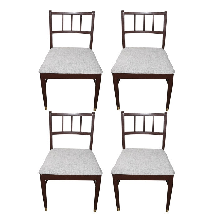 Mid Century Modern Dining Chairs by Broyhill