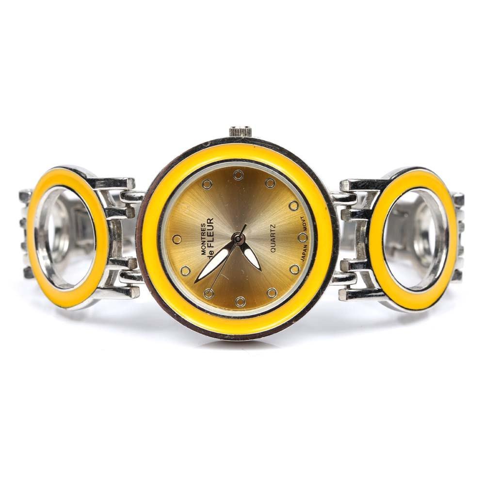 Montres de Fleur Wristwatch