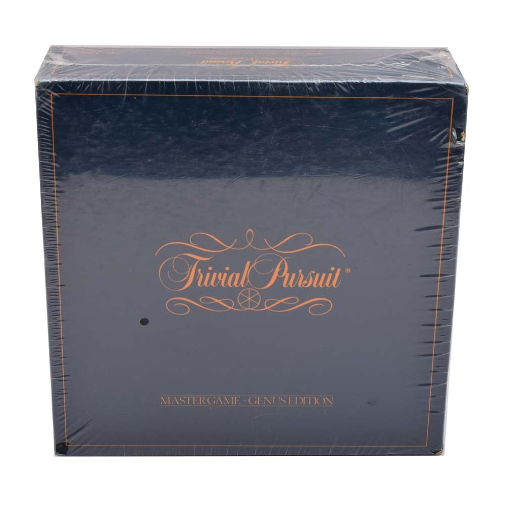 Trivial Pursuit Genus Edition Master Game by Horn Abbot