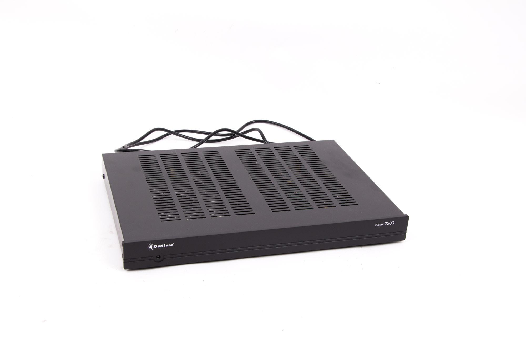 Outlaw Model 2200 Pre-Amplifier