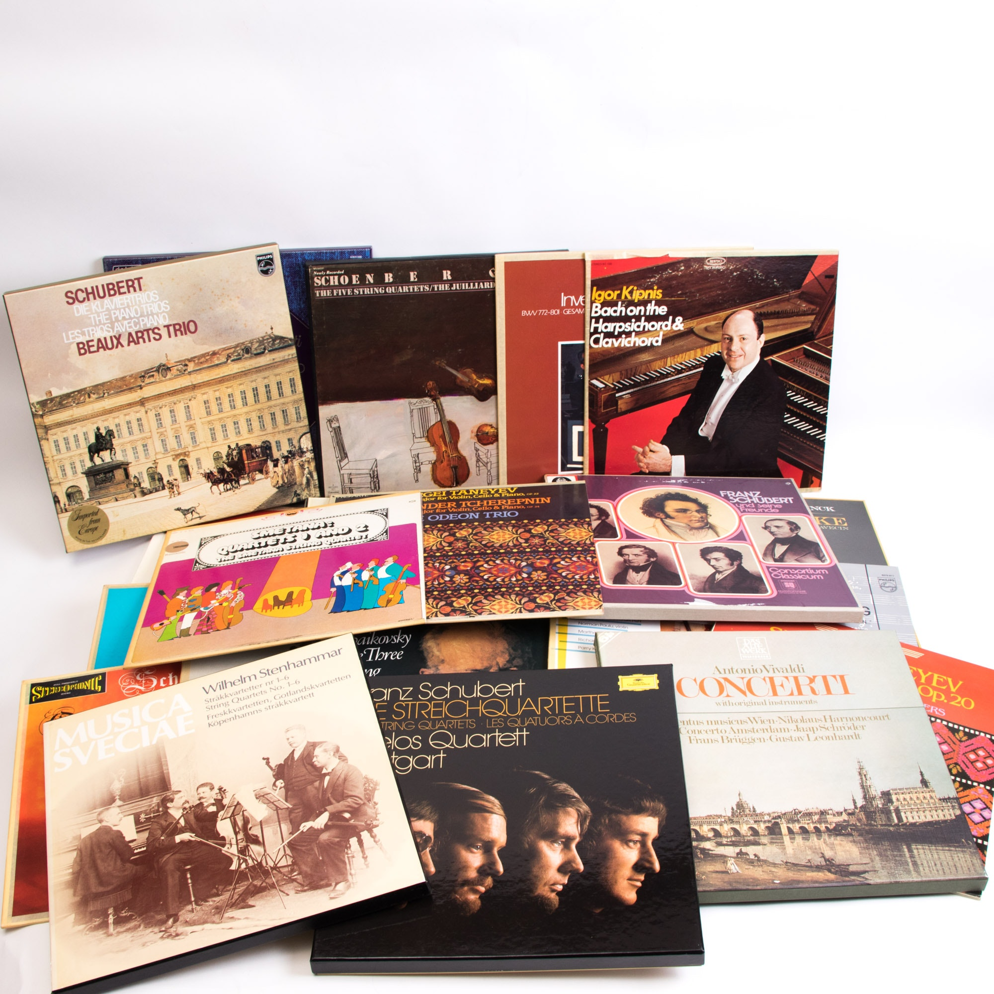 Assorted Collection of Classical and Orchestral LP Records
