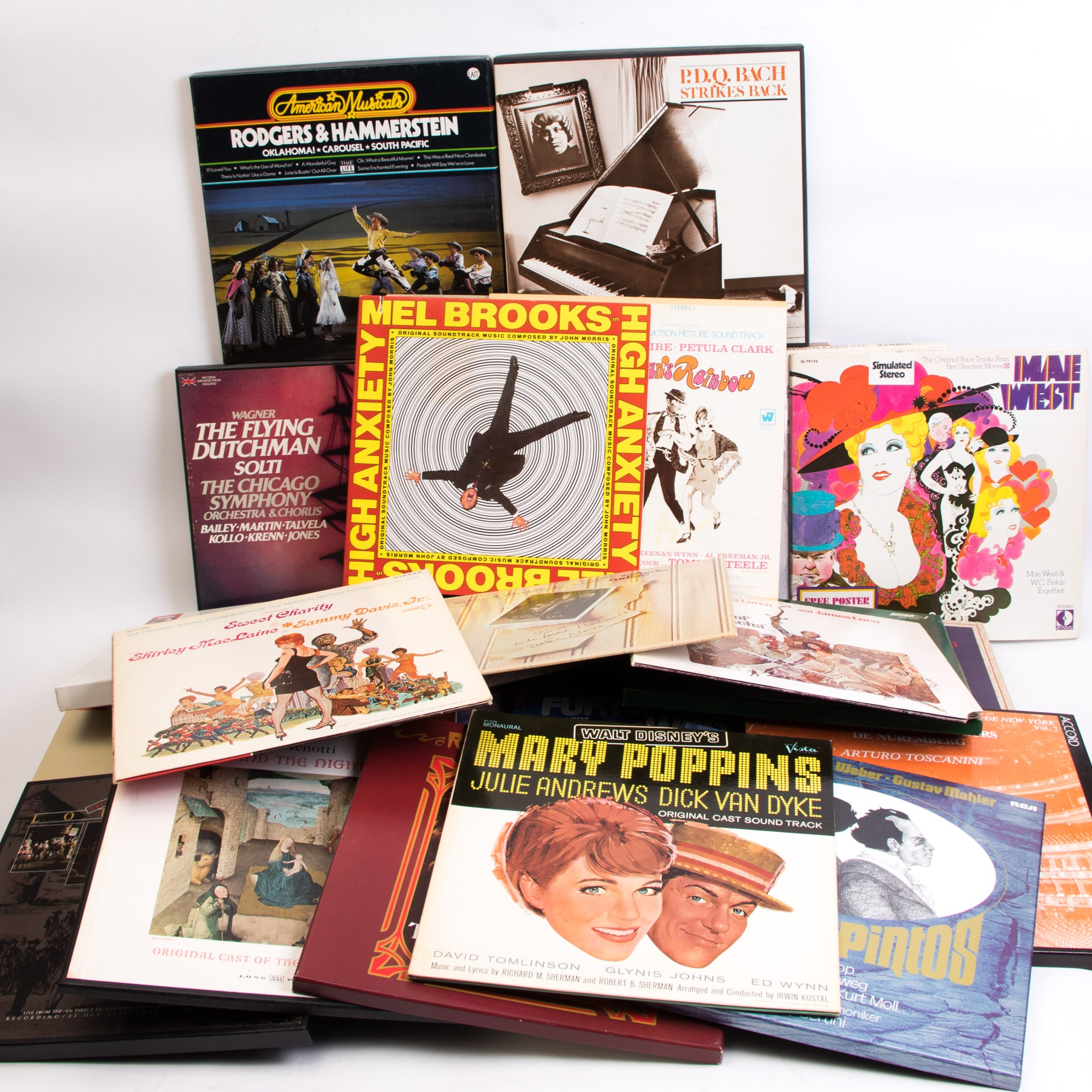 Large Assortment of Classical and Orchestral LP Records