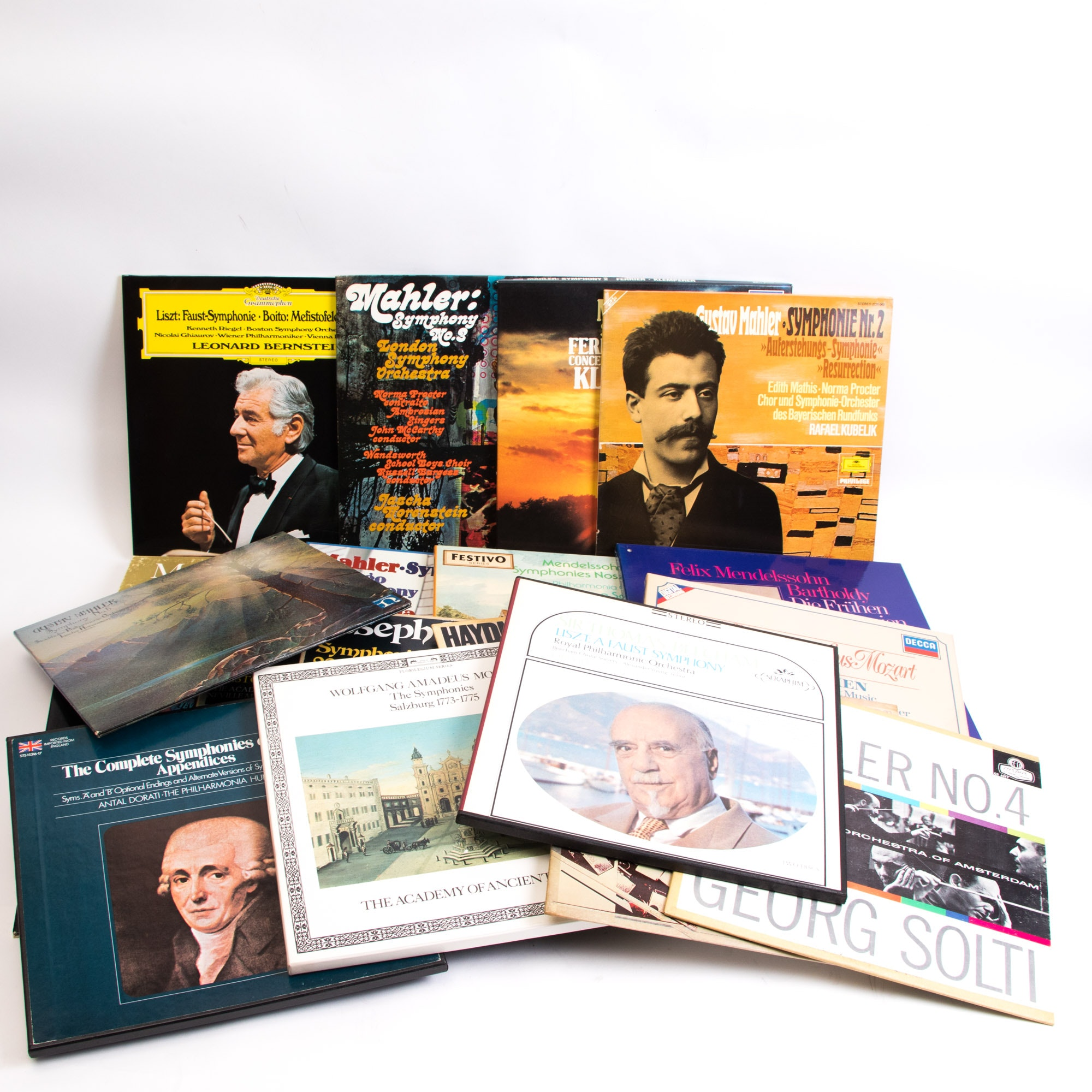 Collection of Classical and Orchestral LP Records