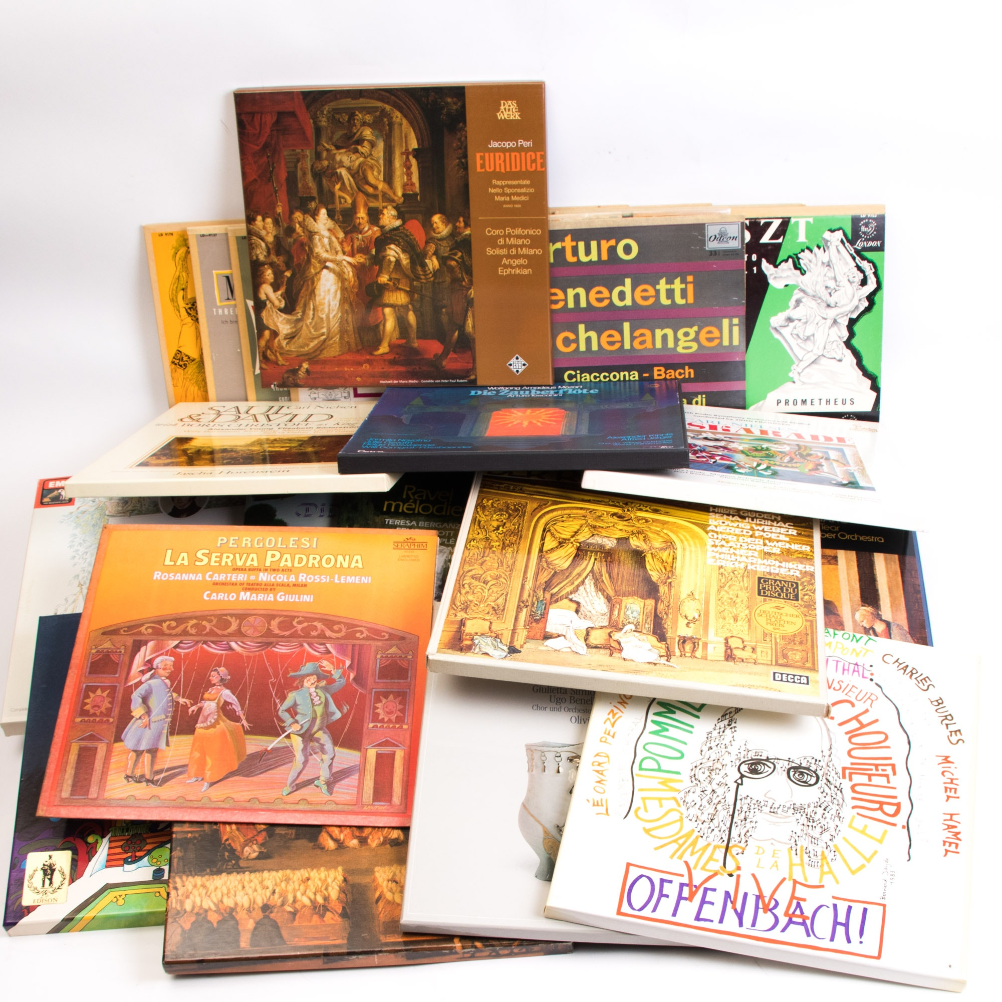Large Grouping of Classical and Orchestral LP Records