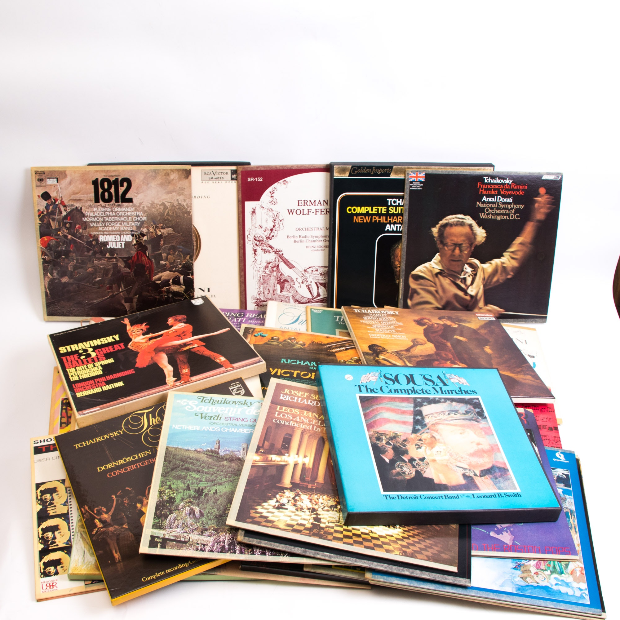 Large Collection of Classical and Orchestral LP Records
