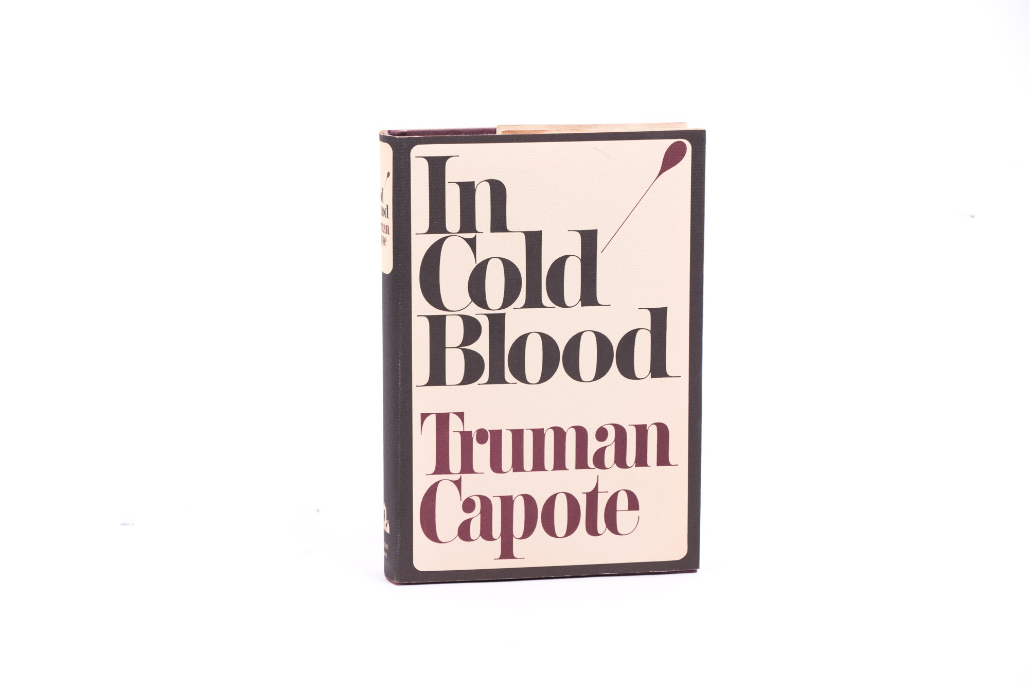 """1965 First Book Club Edition """"In Cold Blood"""" by Truman Capote"""