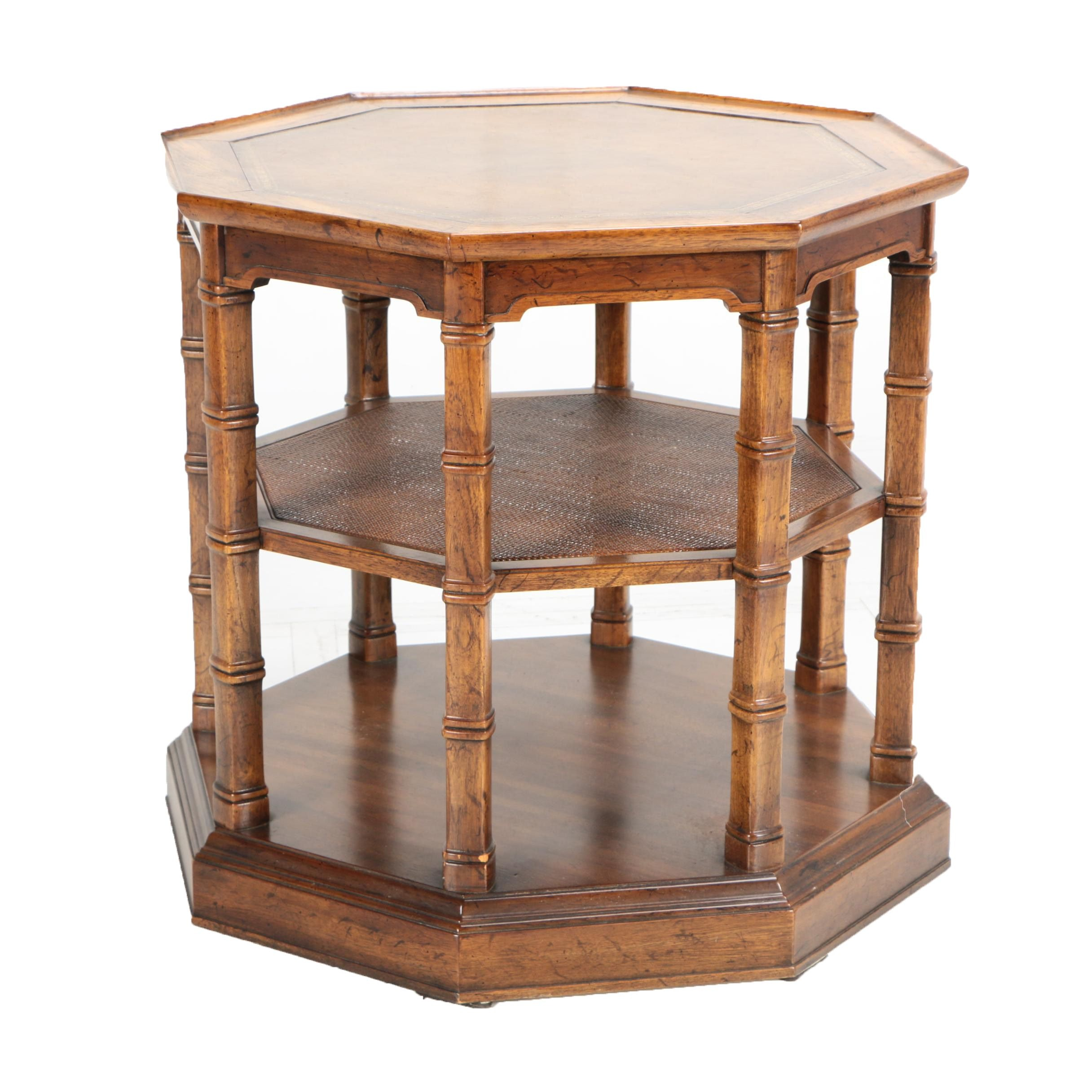 Octagonal Side Table by Heritage