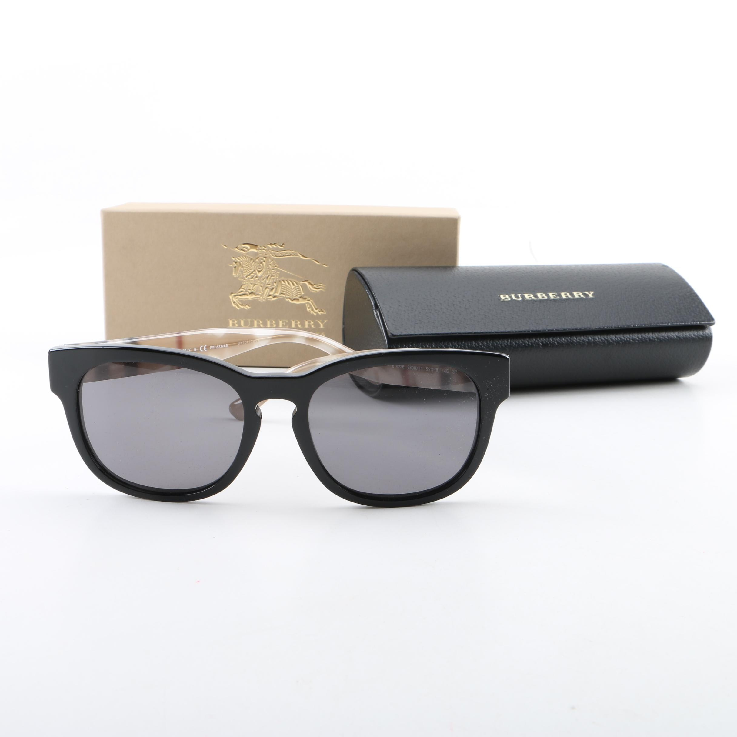 Burberry B4226 Polarized Sunglasses with Box and Case