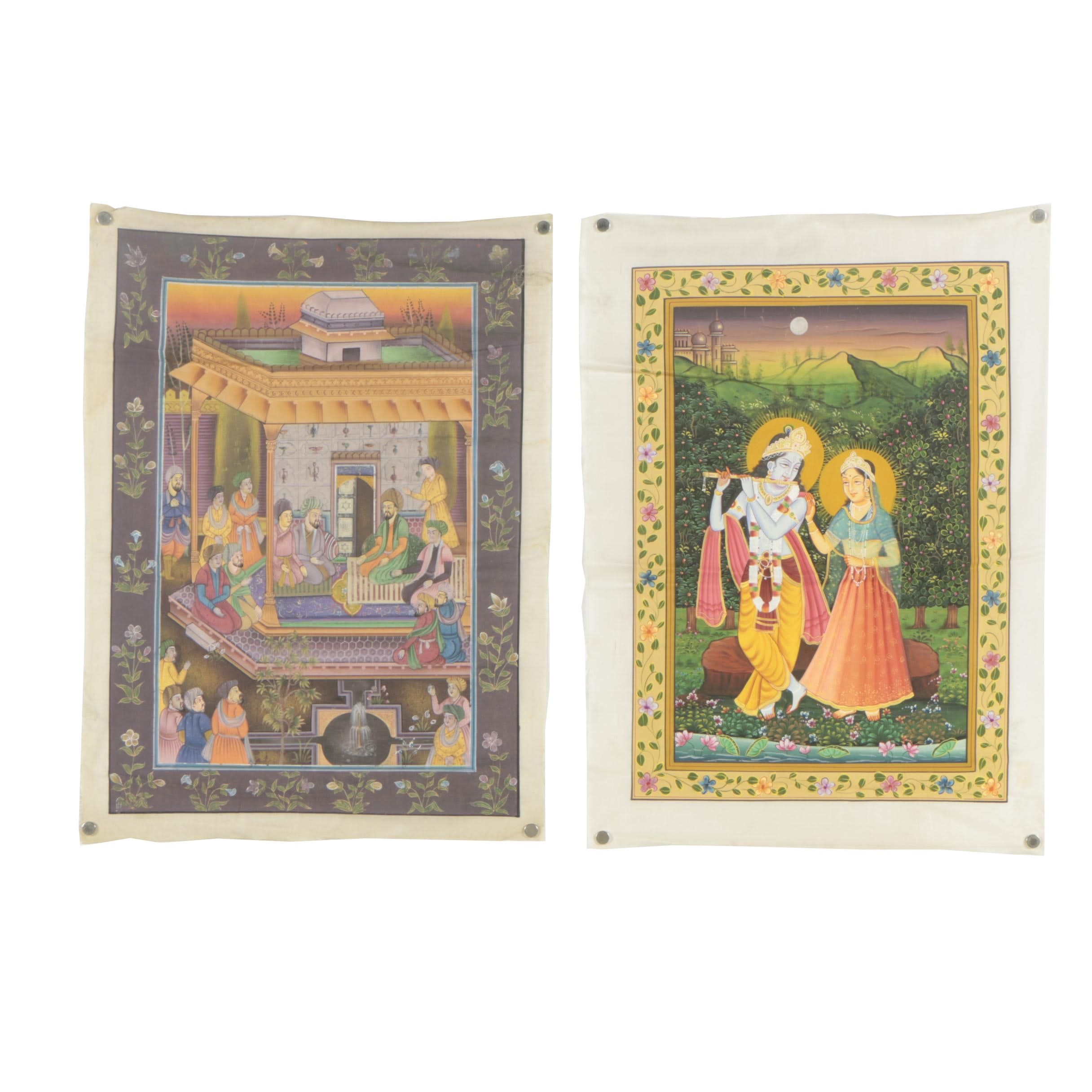 Indo-Persian Gouache Paintings