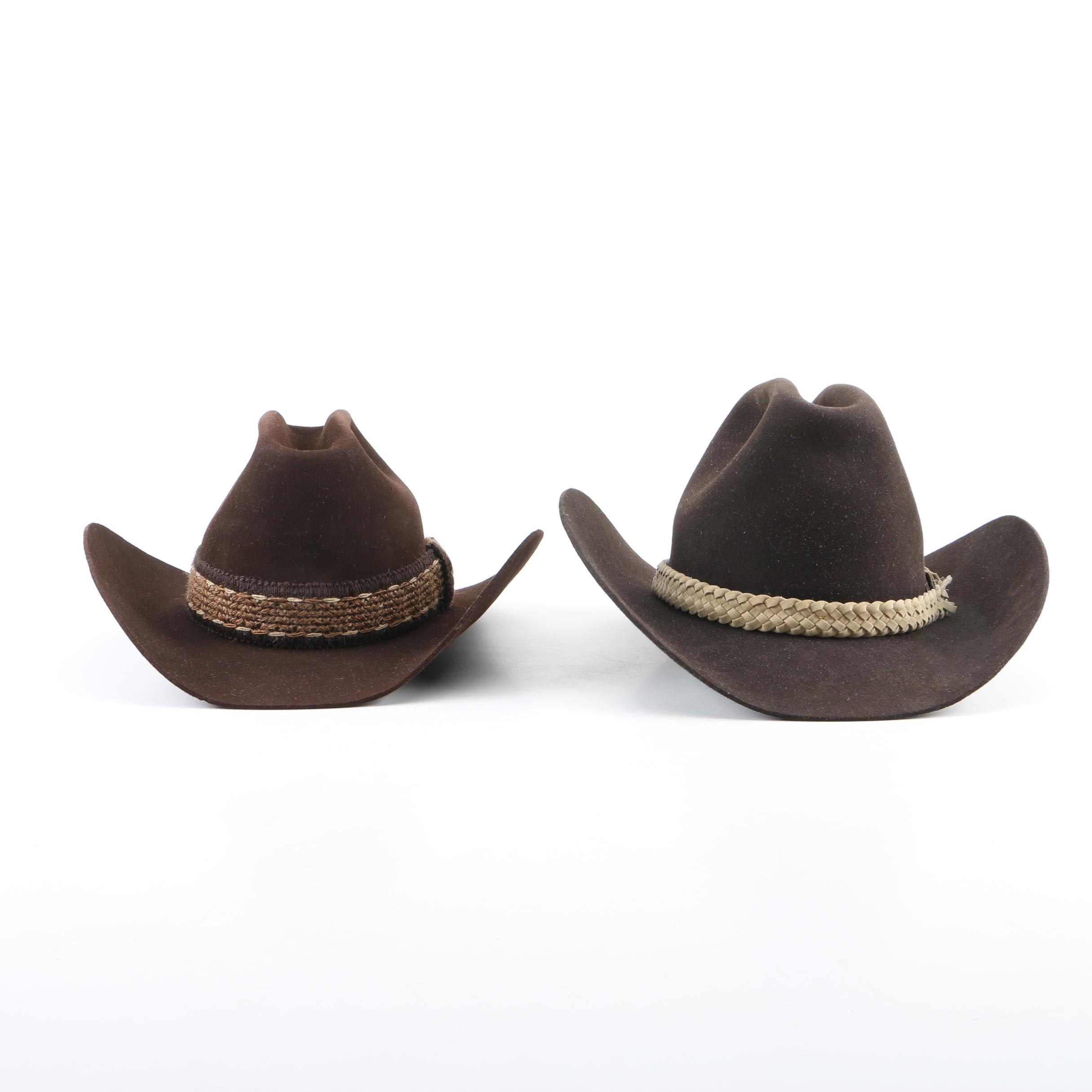 Men's Resistol Lariat Cordova and Bailey New West Cowboy Hats
