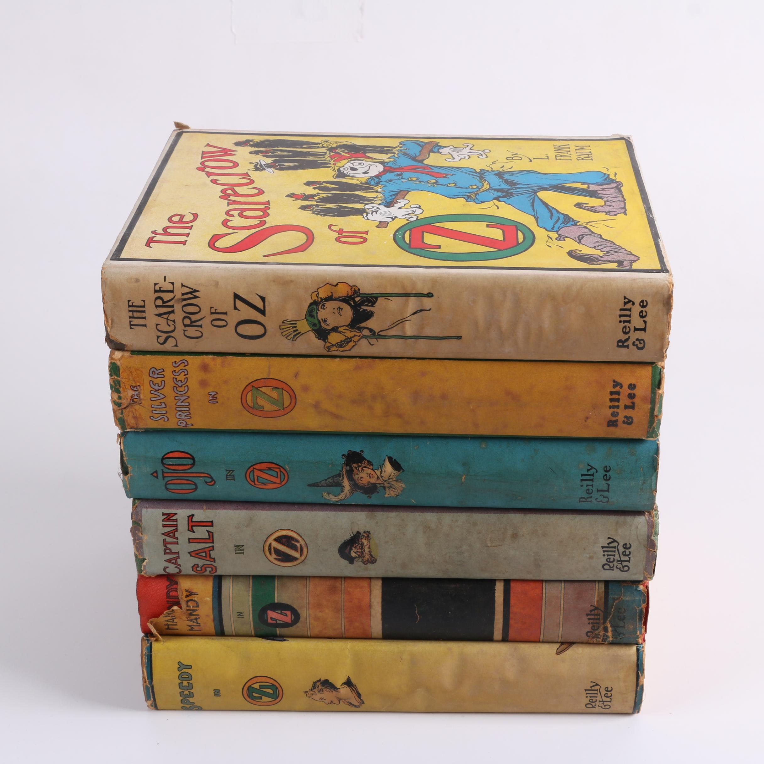 """""""Oz"""" Books by L. Frank Baum and Ruth Plumly Thompson Including """"Ojo in Oz"""""""