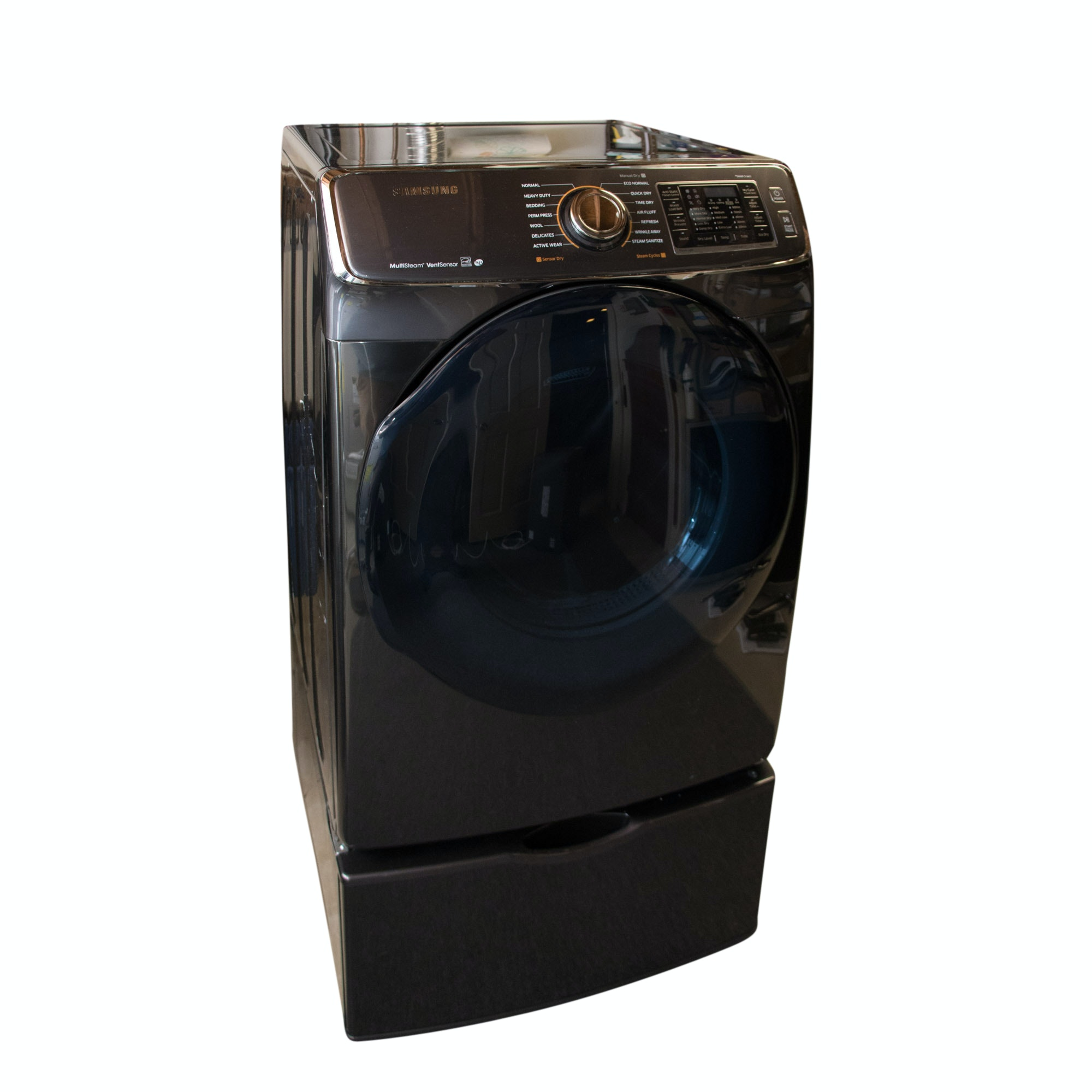 Samsung Black Stainless Electric Dryer