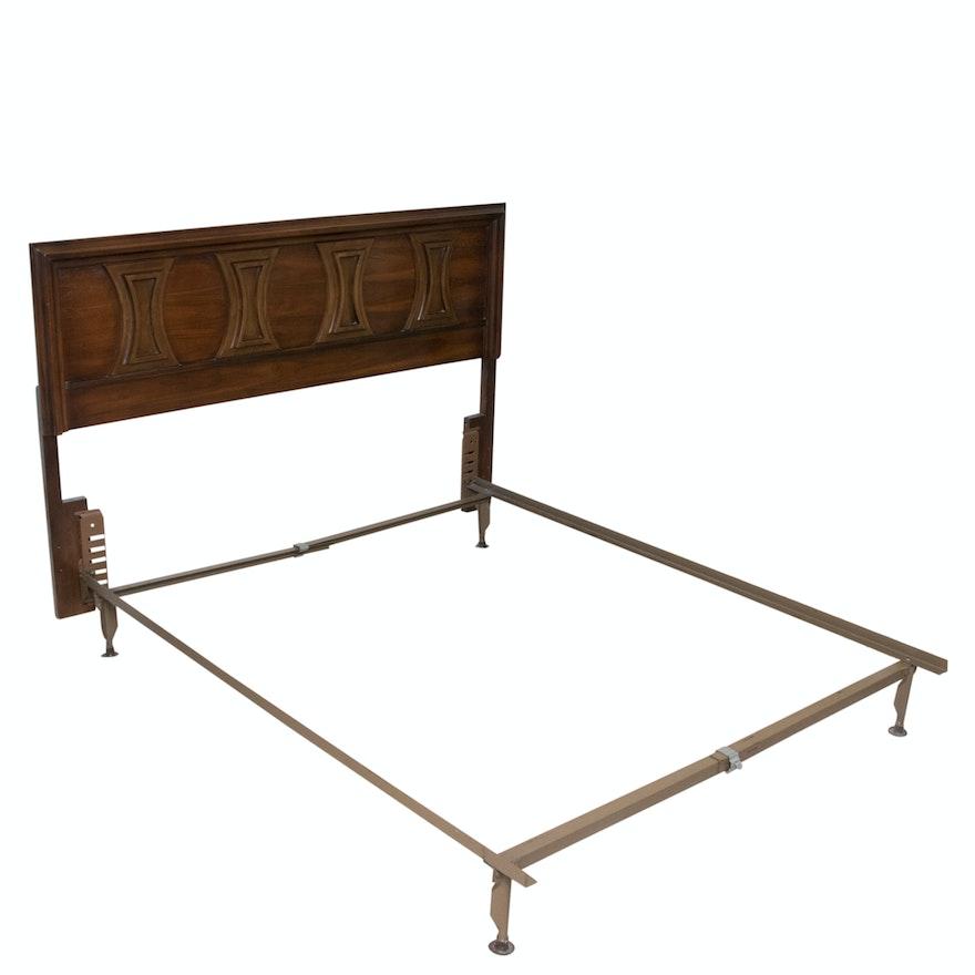 Mid Century Modern Queen Bed Frame : EBTH