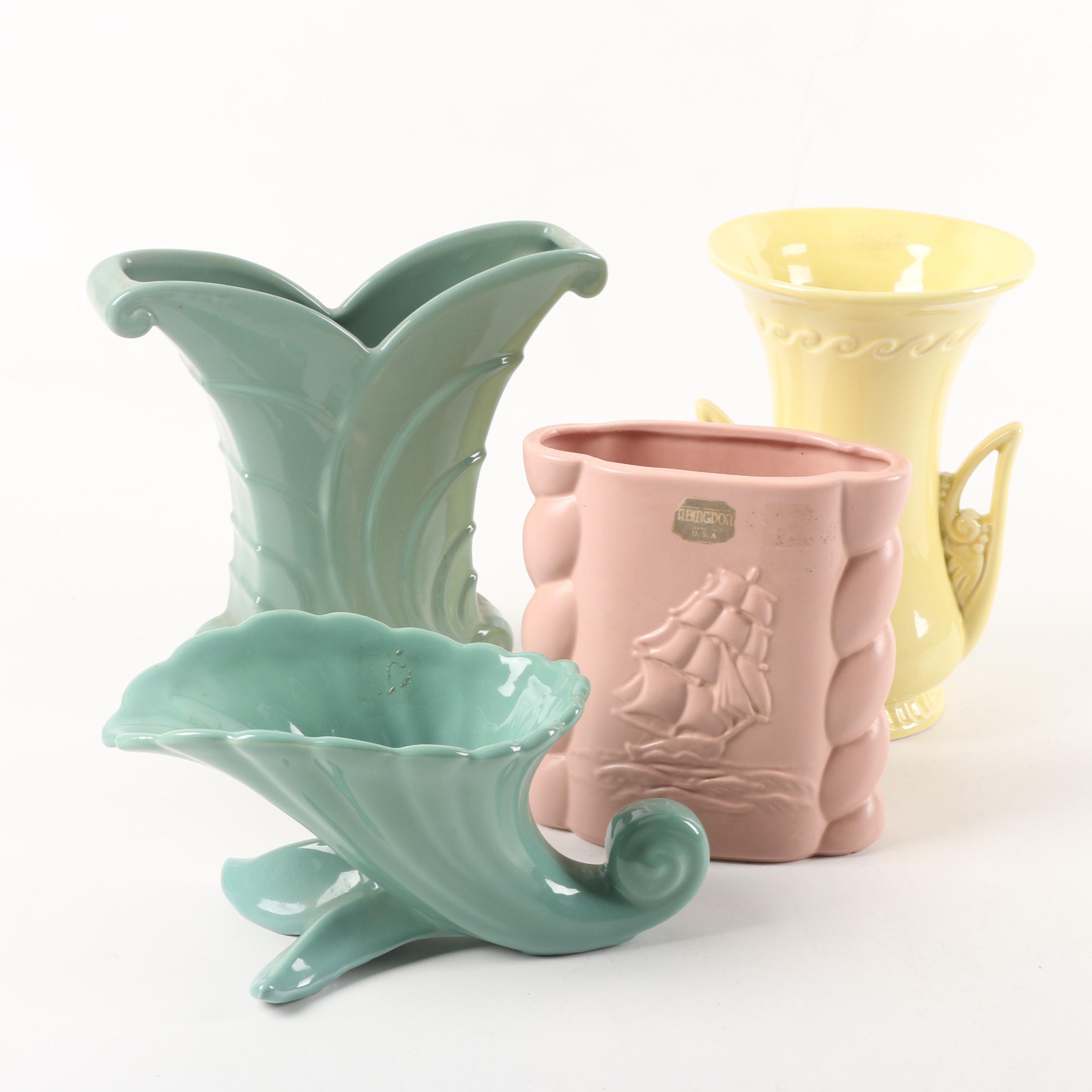 Abingdon Ceramic Planters and Vases