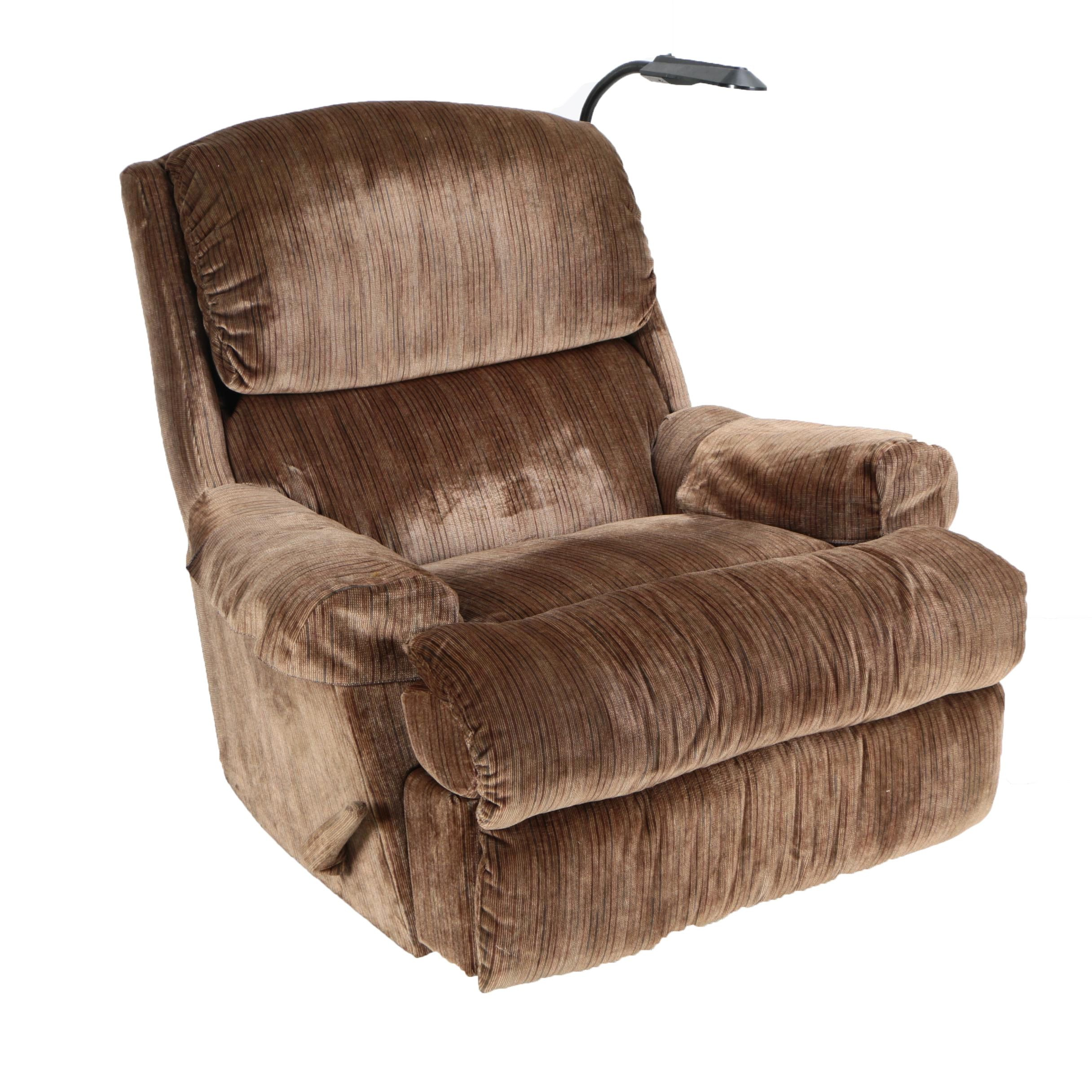 """""""Lumbar Relaxer"""" Recliner with Side Light by Lane"""