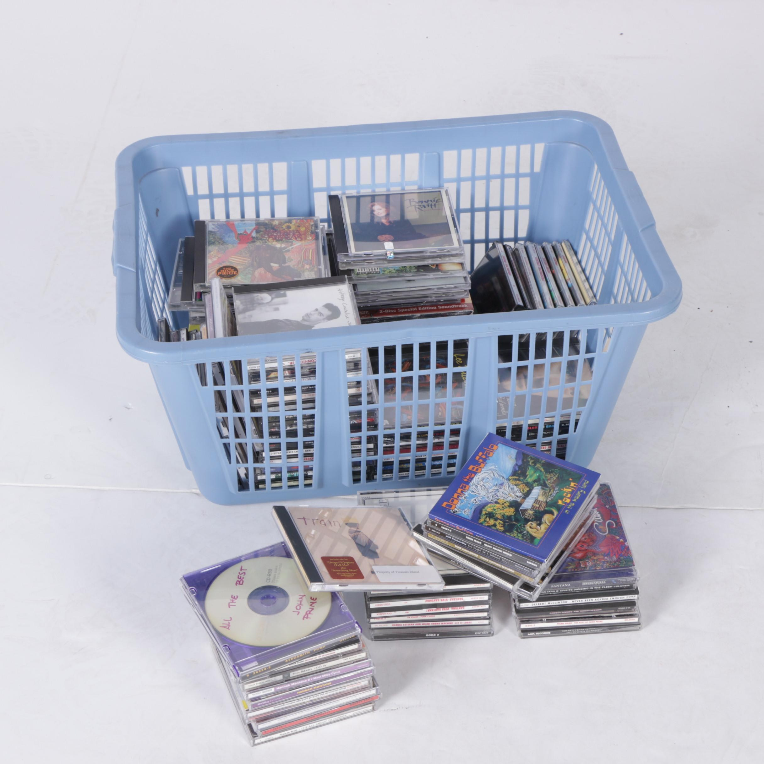 AC/DC, Green Day, Santana, Aerosmith and Other CDs
