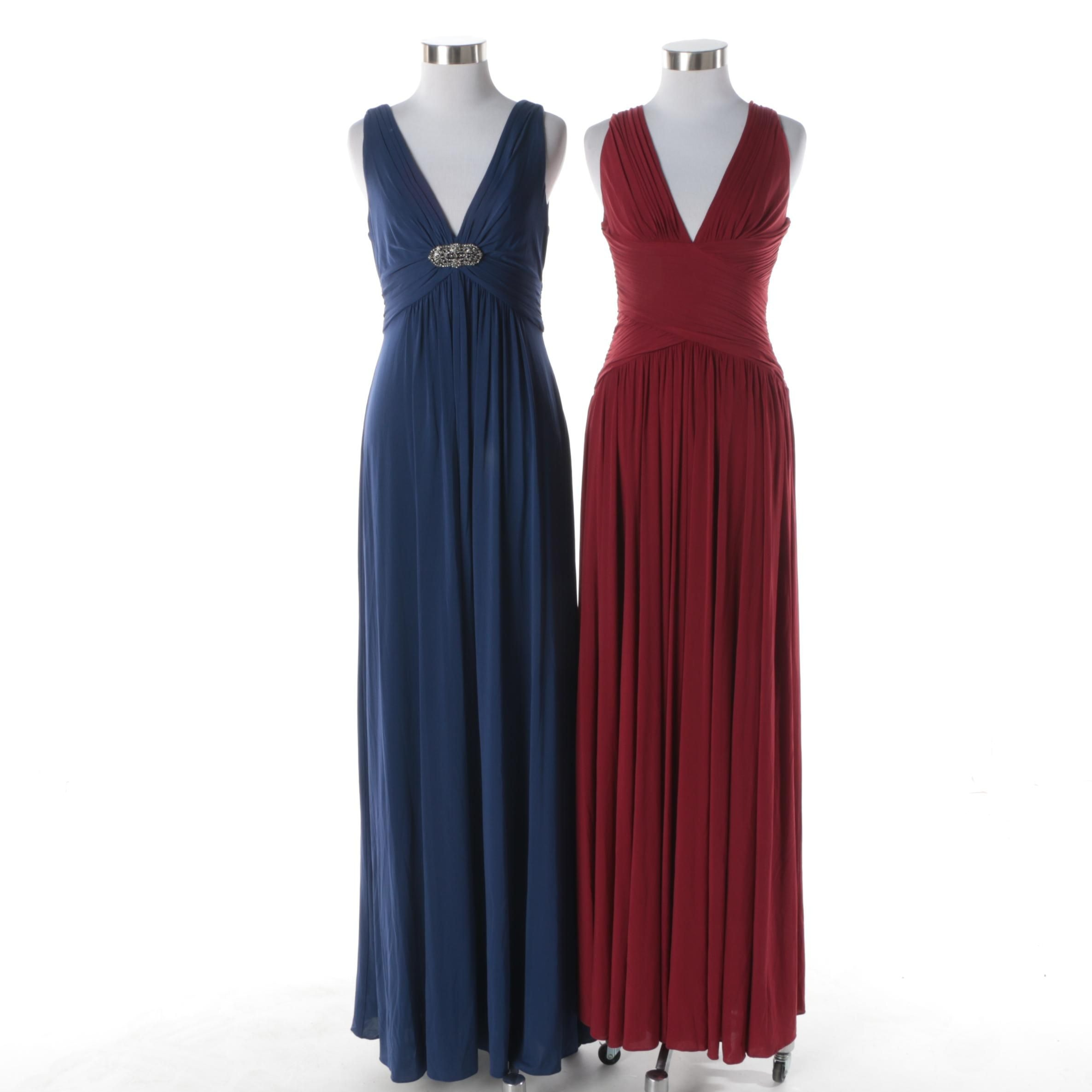 BCBG Max Azria Sleeveless Evening Gowns
