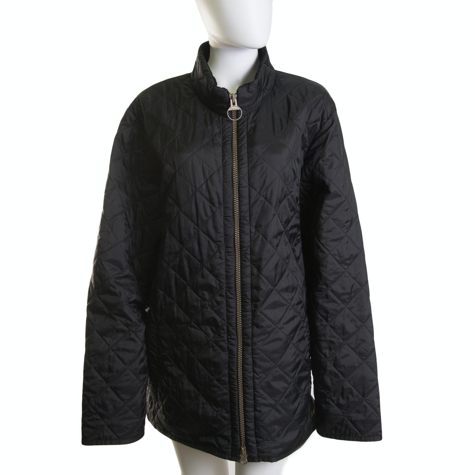 Men's Barbour Black Quilted Jacket