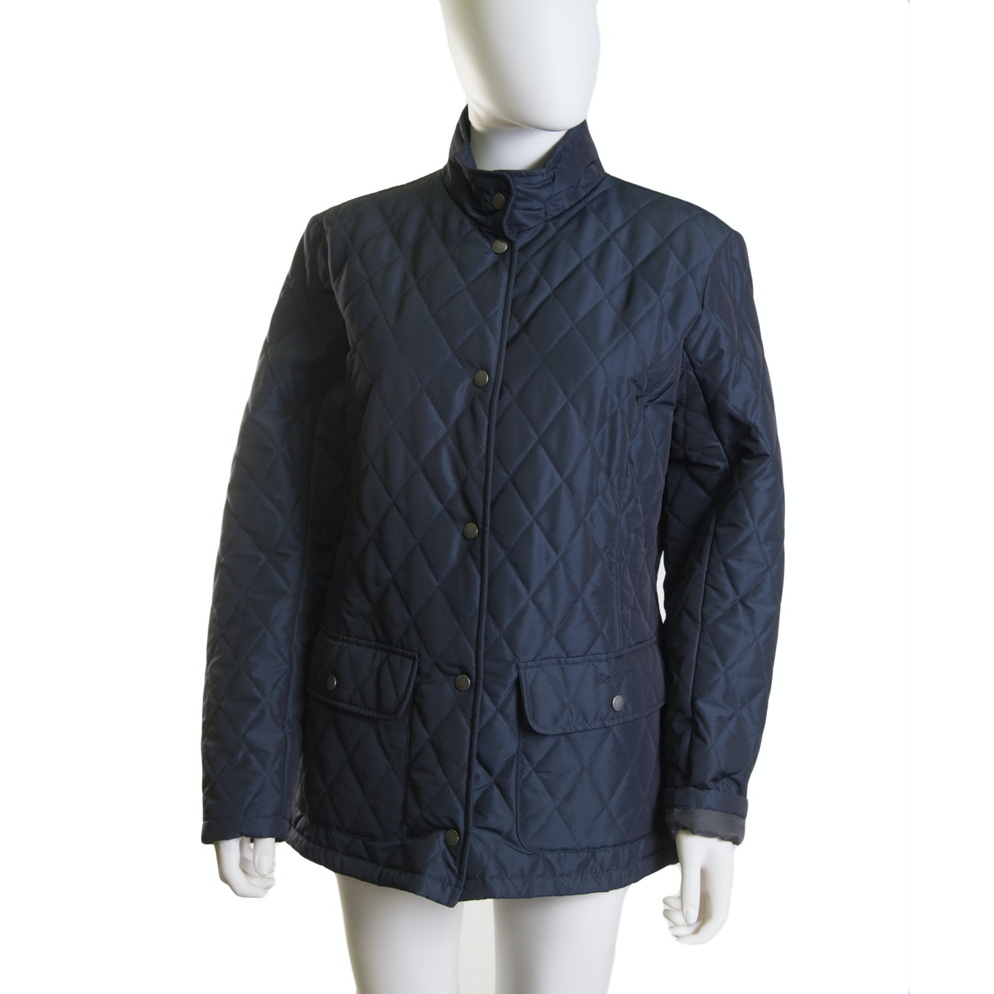 Women's Barbour Quilted Midnight Blue Jacket