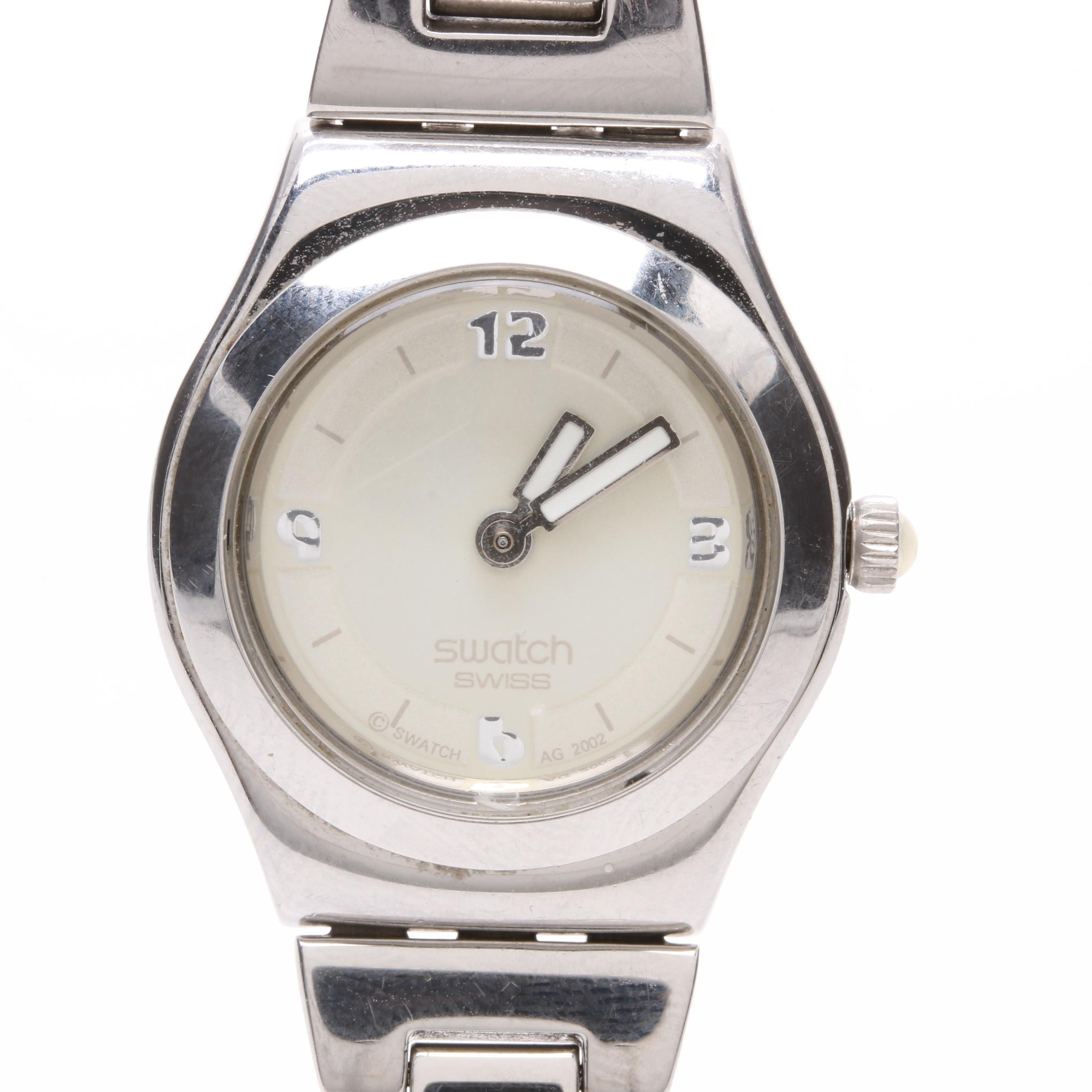 Swatch Stainless Steel Wristwatch