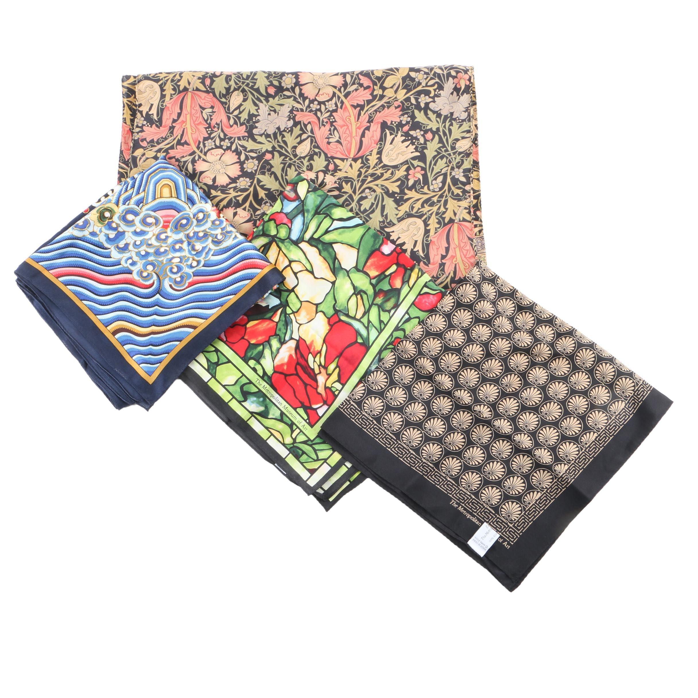 The Metropolitan Museum of Art Silk Fashion Scarves