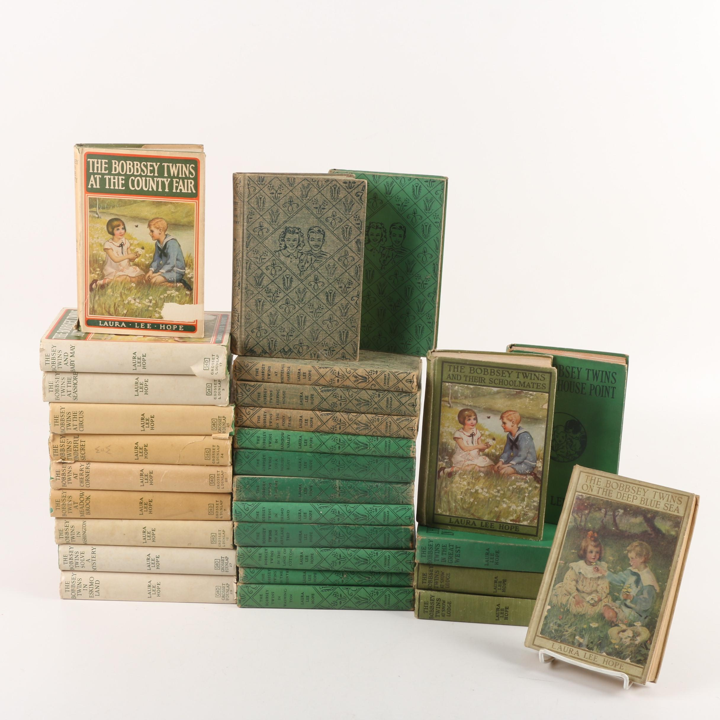 "Twenty-Eight Volumes of ""The Bobbsey Twins"" by Laura Lee Hope"
