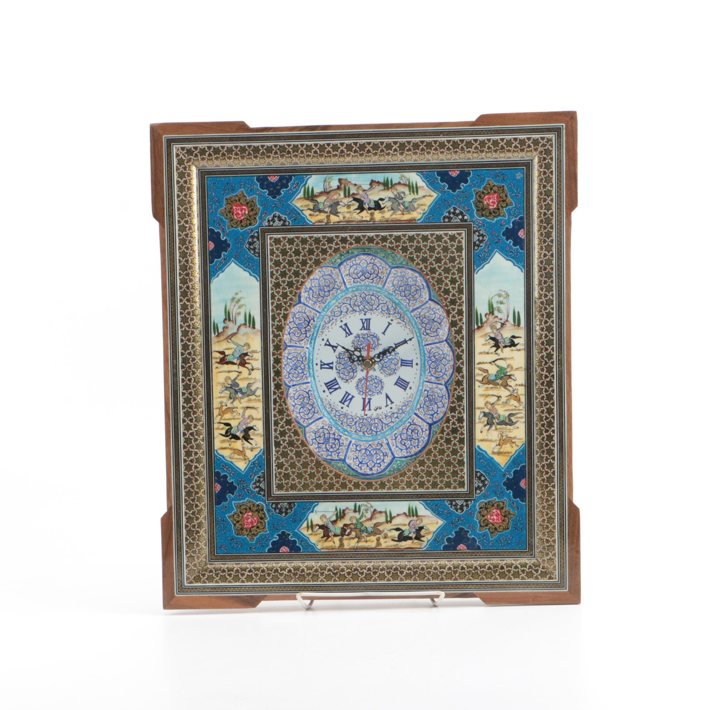 Middle Eastern Style Wall Clock