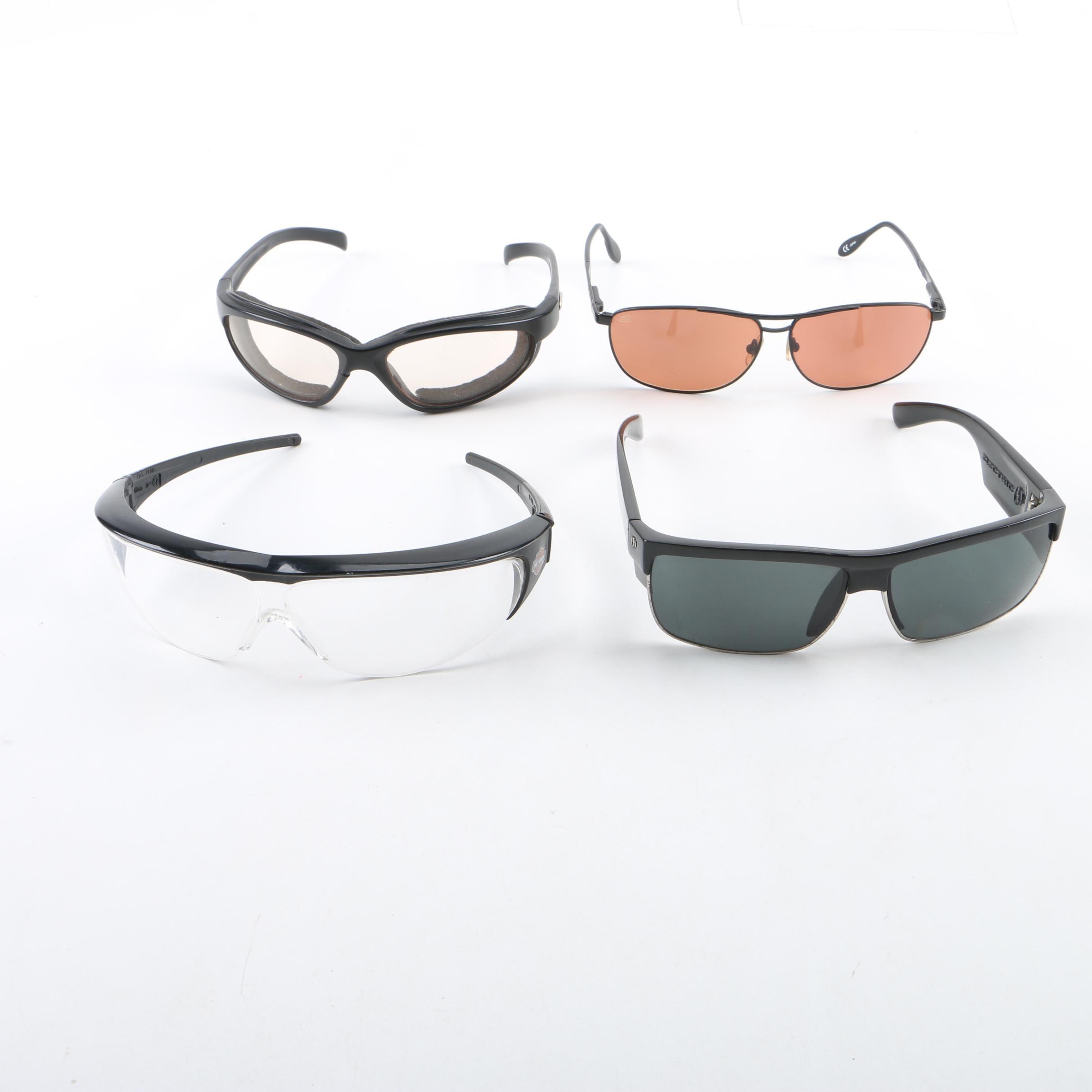 Sunglasses and Protective Eyewear Including Harley-Davidson and Serengeti