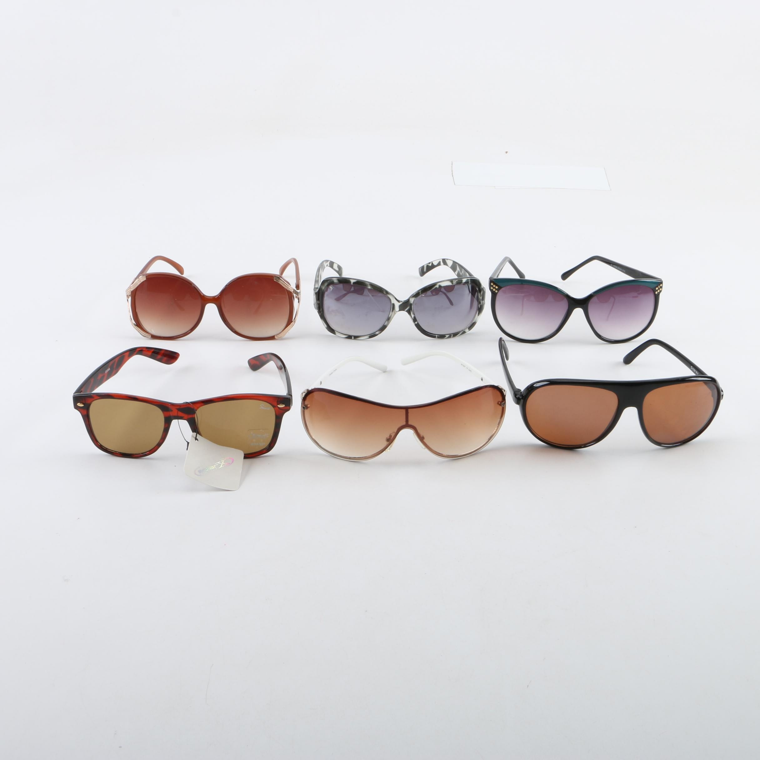 Fashion Sunglasses Including Forever 21 and Solaray