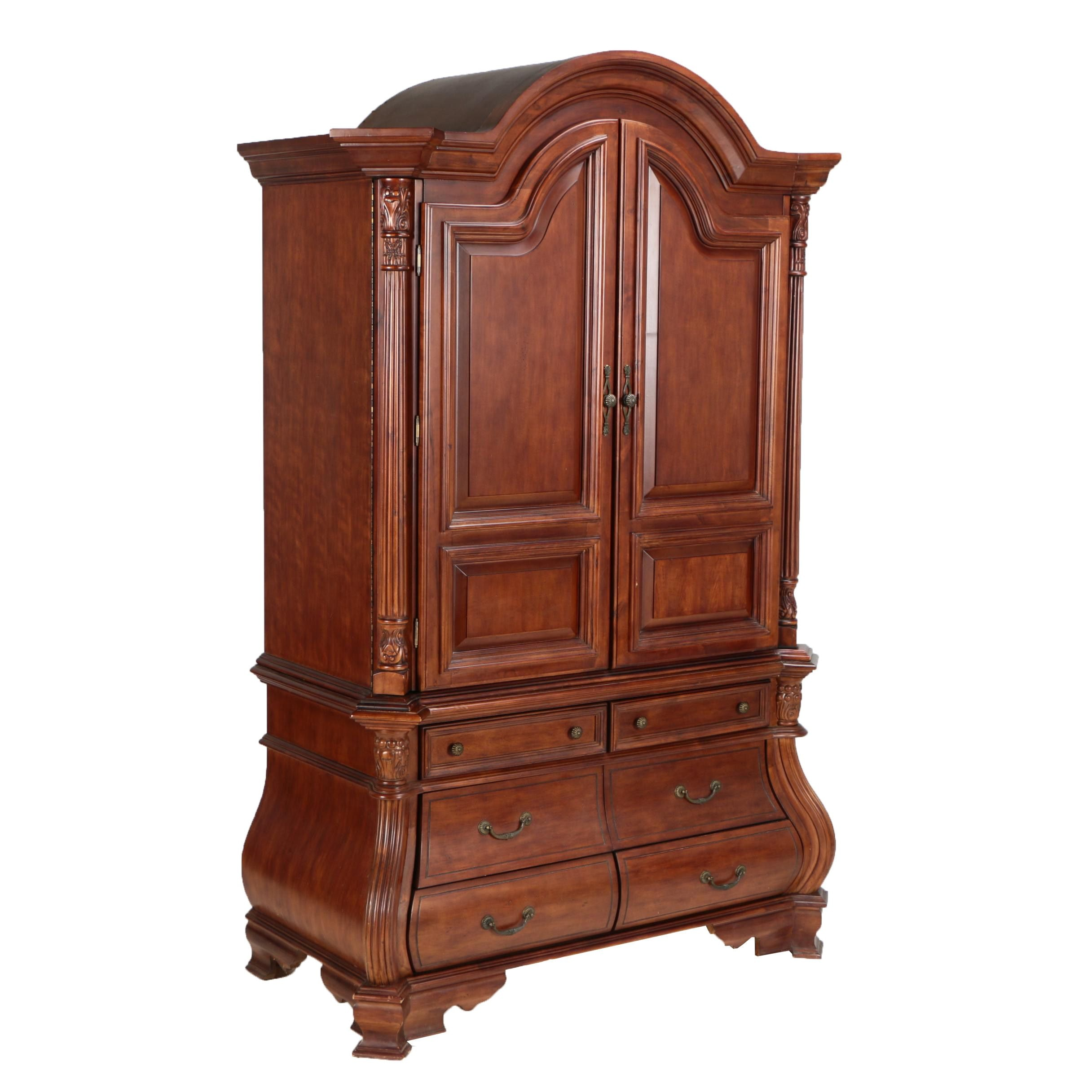 Bombe Entertainment Armoire by Vineyard Furniture Co.