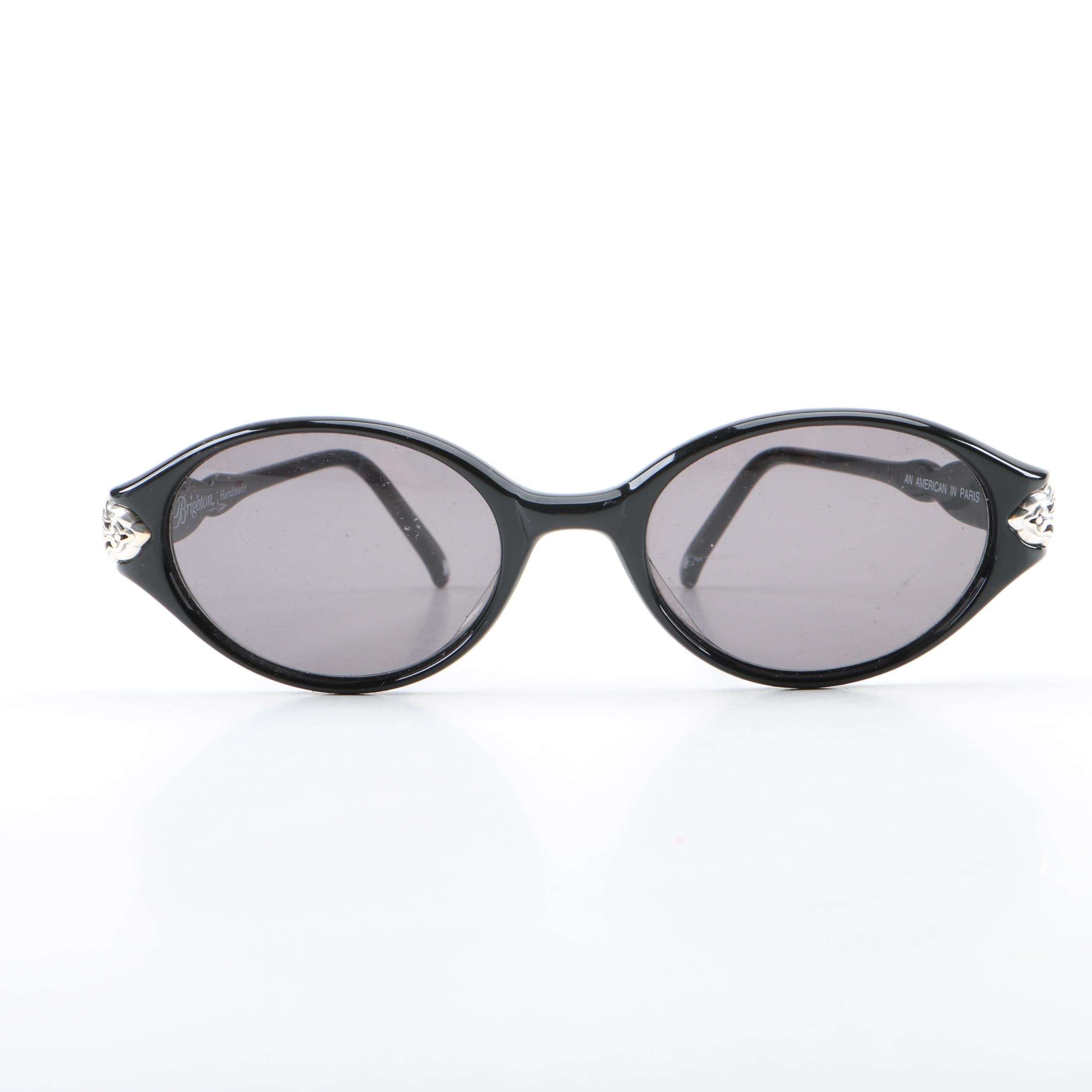 Brighton An American in Paris Handmade Sunglasses with Leather Case