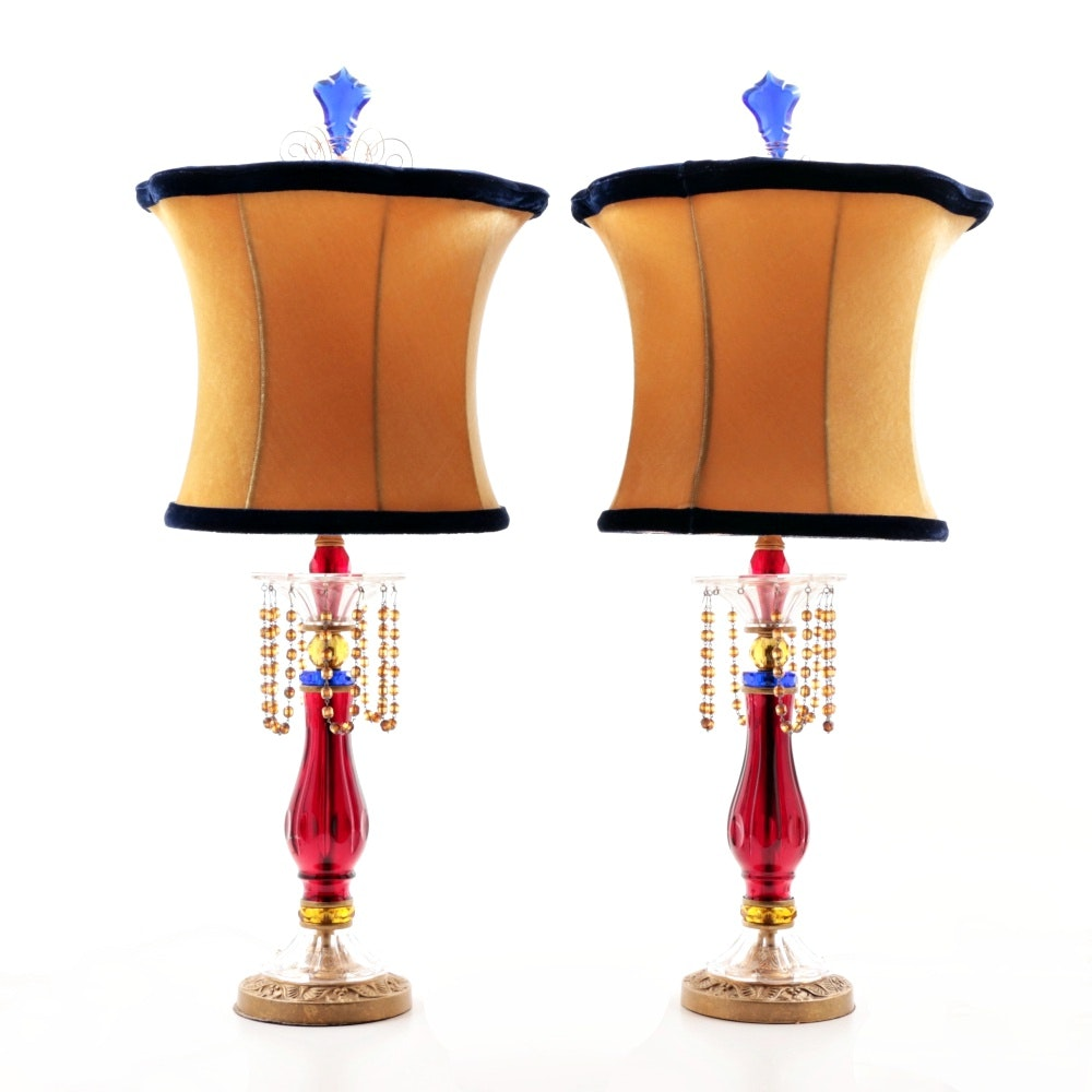 Decorative Handcrafted Schonbeck Table Lamps