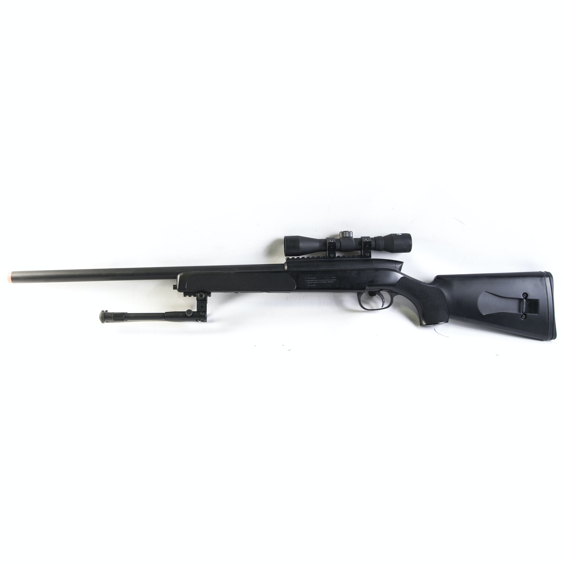 Swiss Arms Air Rifle With Scope and Bipod