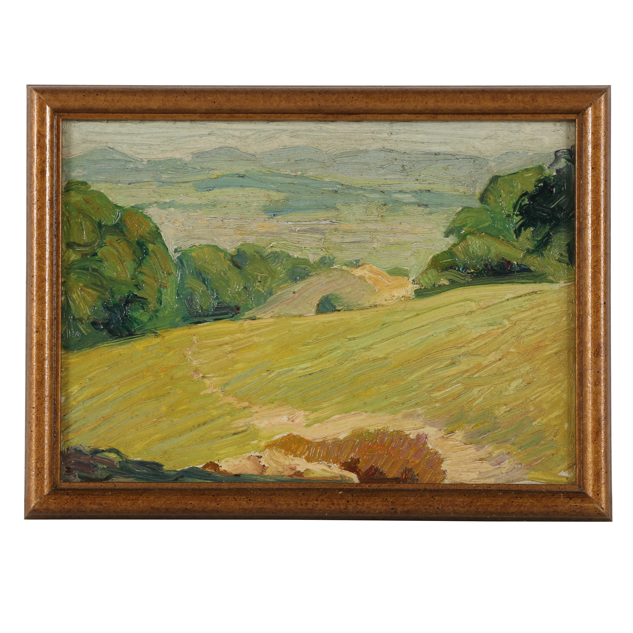 "Robert Whitmore Oil Painting ""Distant Valley"""