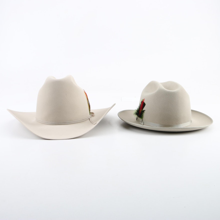 f5318586bc Men s Stetson Cowboy Hat and Resistol Fedora   EBTH
