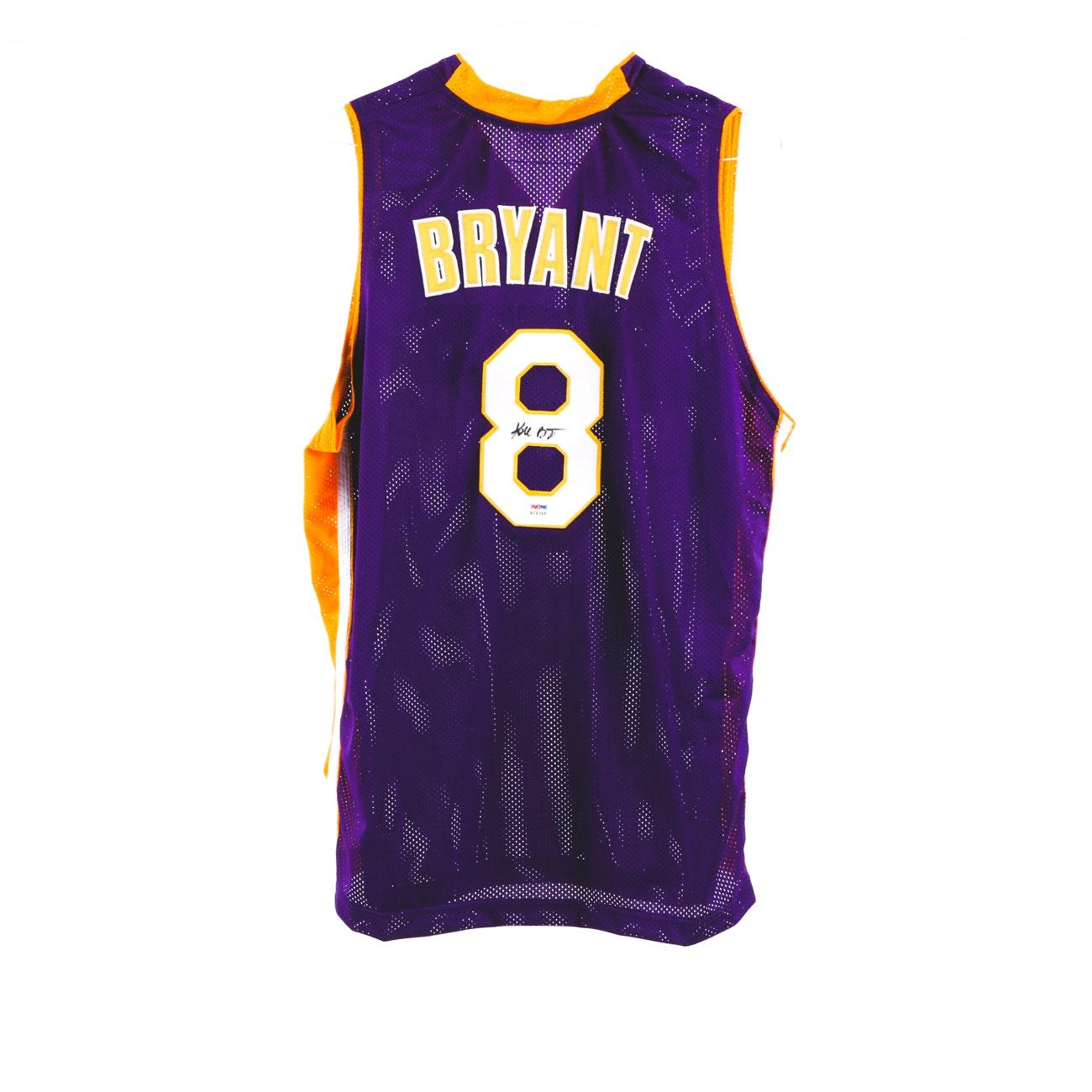 Kobe Bryant Signed Jersey  COA