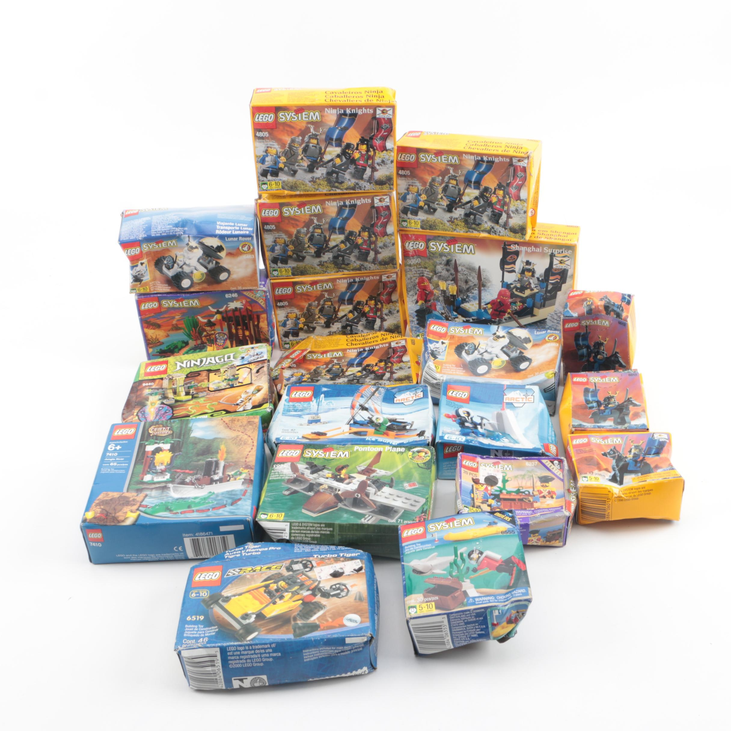 LEGO Sets Including Ninjago, Orient Expedition, and System Sets