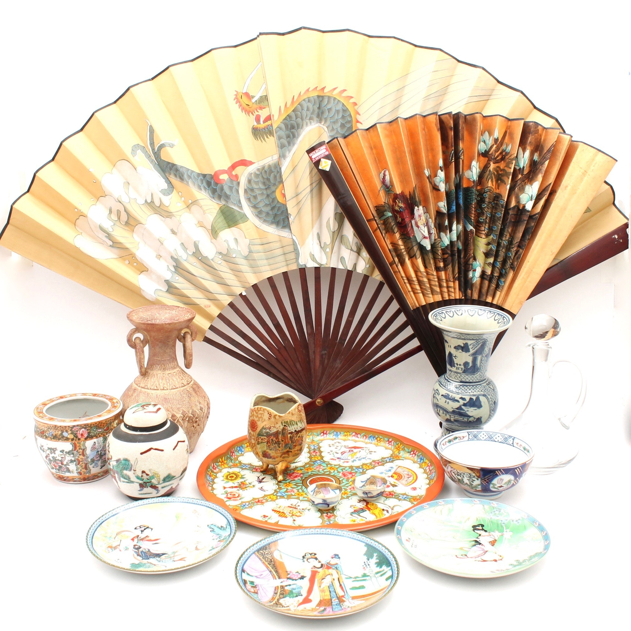 Imperial Jingdezhen Plates and Chinese Decor